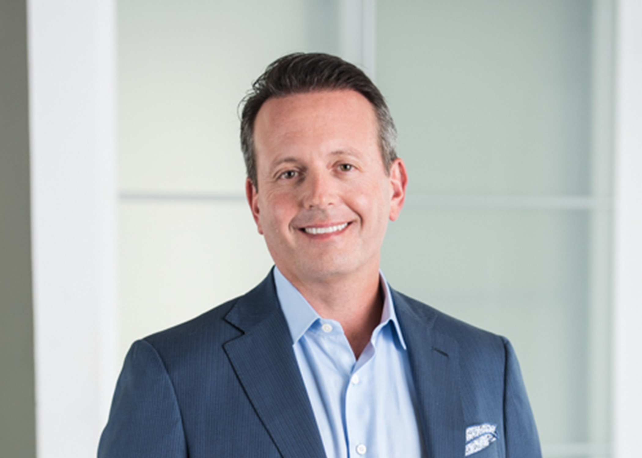 An interview with Allergan chief Brent Saunders