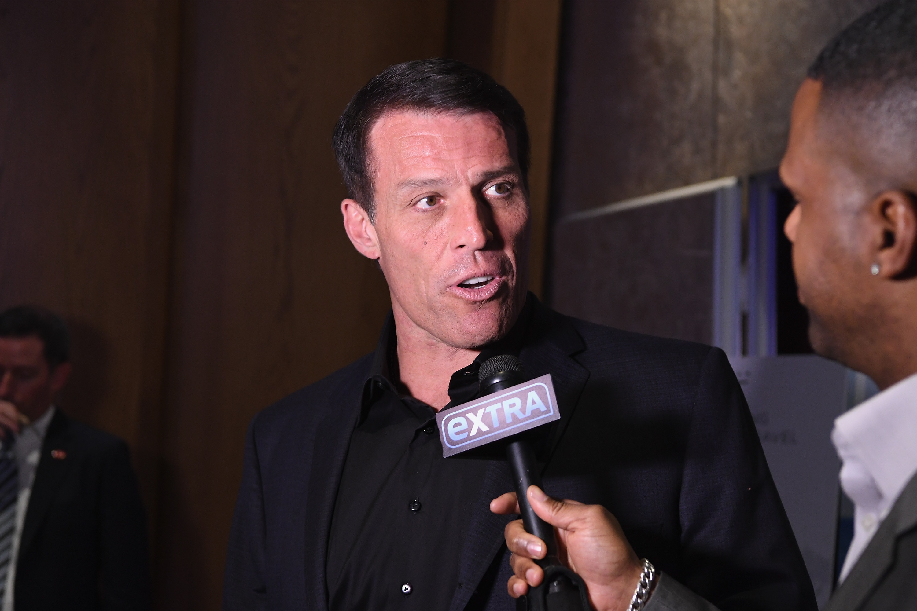"""Tony Robbins' Birthday Celebration & Book Launch of """"UNSHAKEABLE"""" Presented by DuJour, Gilt and JetSmarter at PH-D Rooftop"""