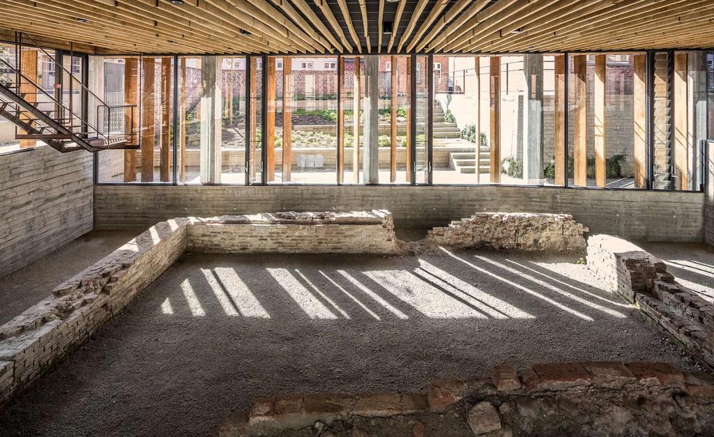 The Kannikegården in Ribe, Denmark, by Lundgaard & Tranberg Architects.