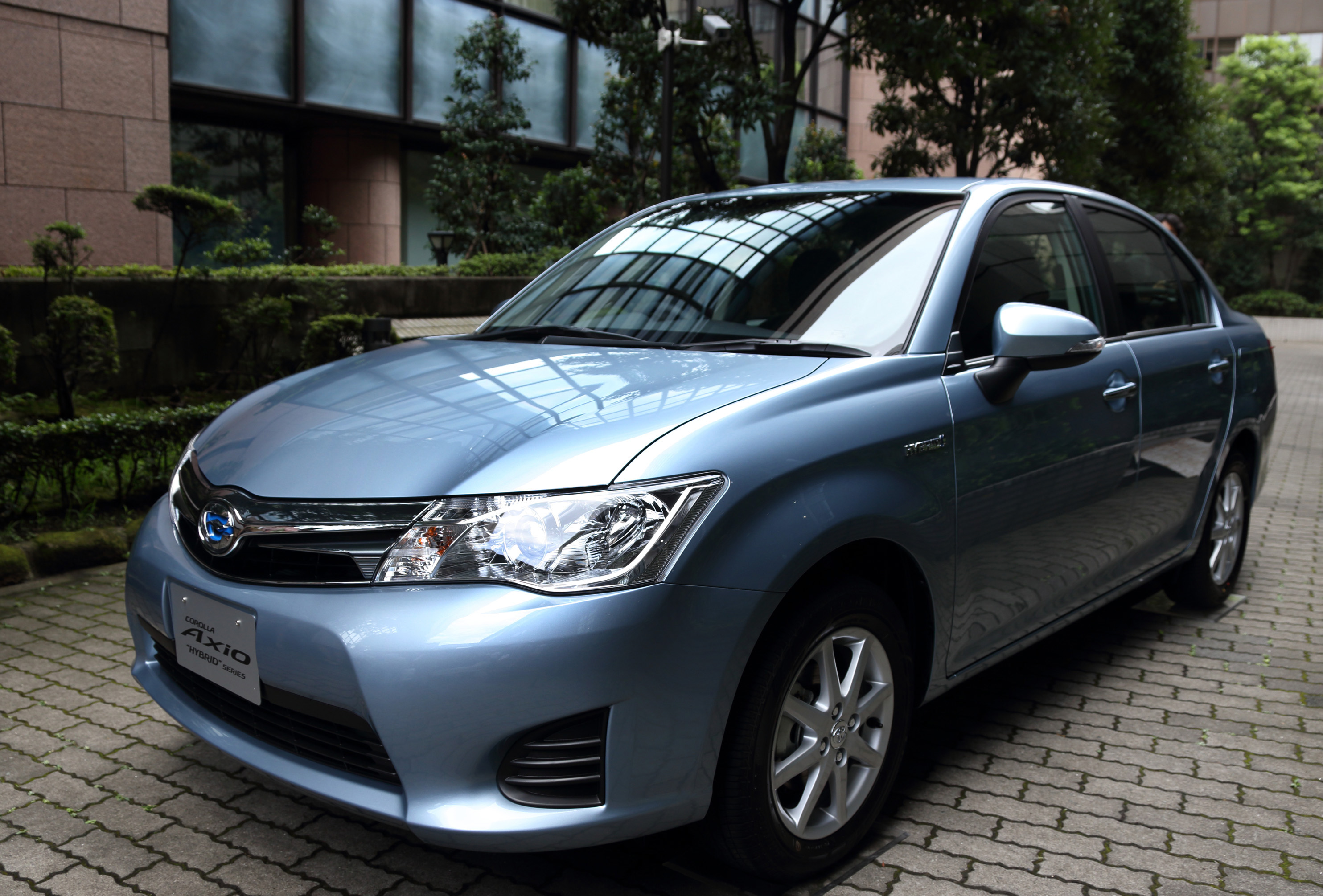 Toyota Introduces Hybrid Version Of Bestselling Corolla In Japan