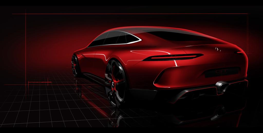 Die Mercedes-AMG GT Familie wächst weiter. Mit dem Mercedes-AMG GT Concept gibt die Performance-Marke auf dem Genfer Automobilsalon einen Ausblick auf ihren neuen viertürigen Sportwagen.