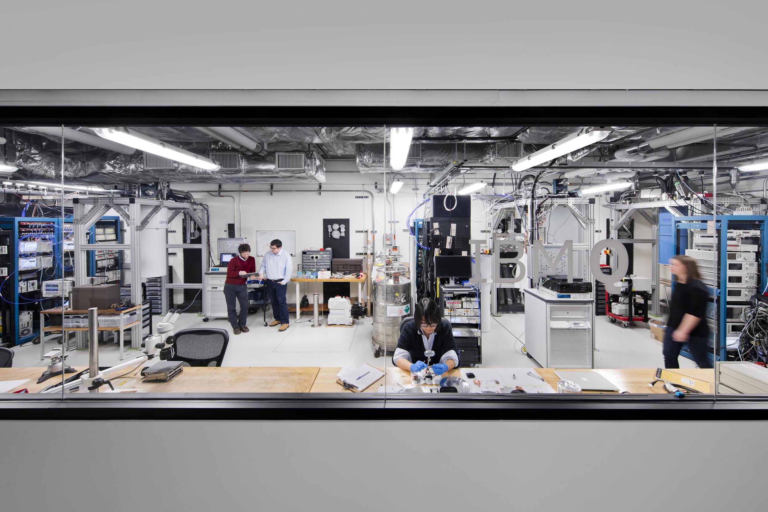 "Inside IBM's ""Q Lab"" for quantum computing."