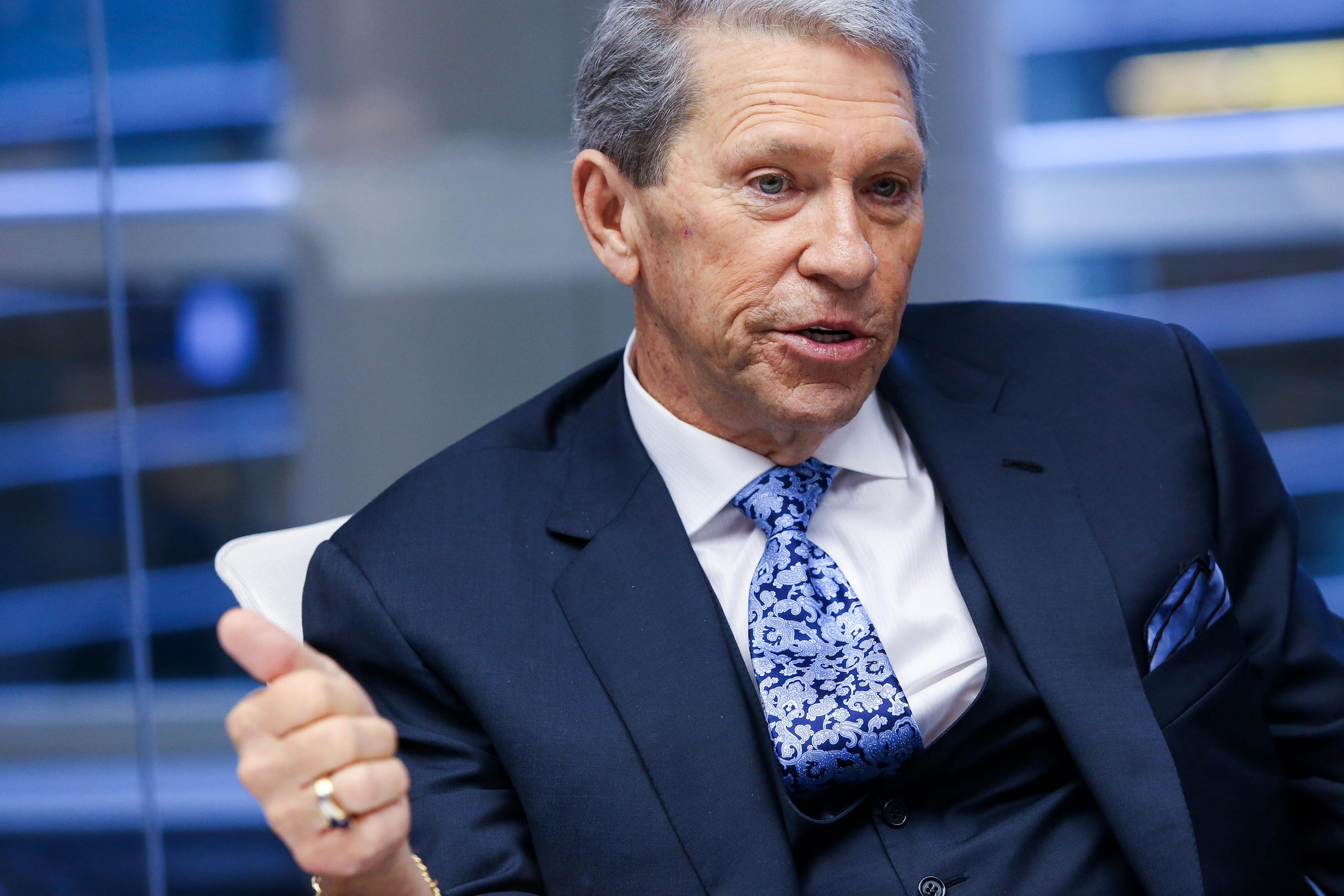 Canadian Pacific Railway Chief Executive Officer Hunter Harrison Interview