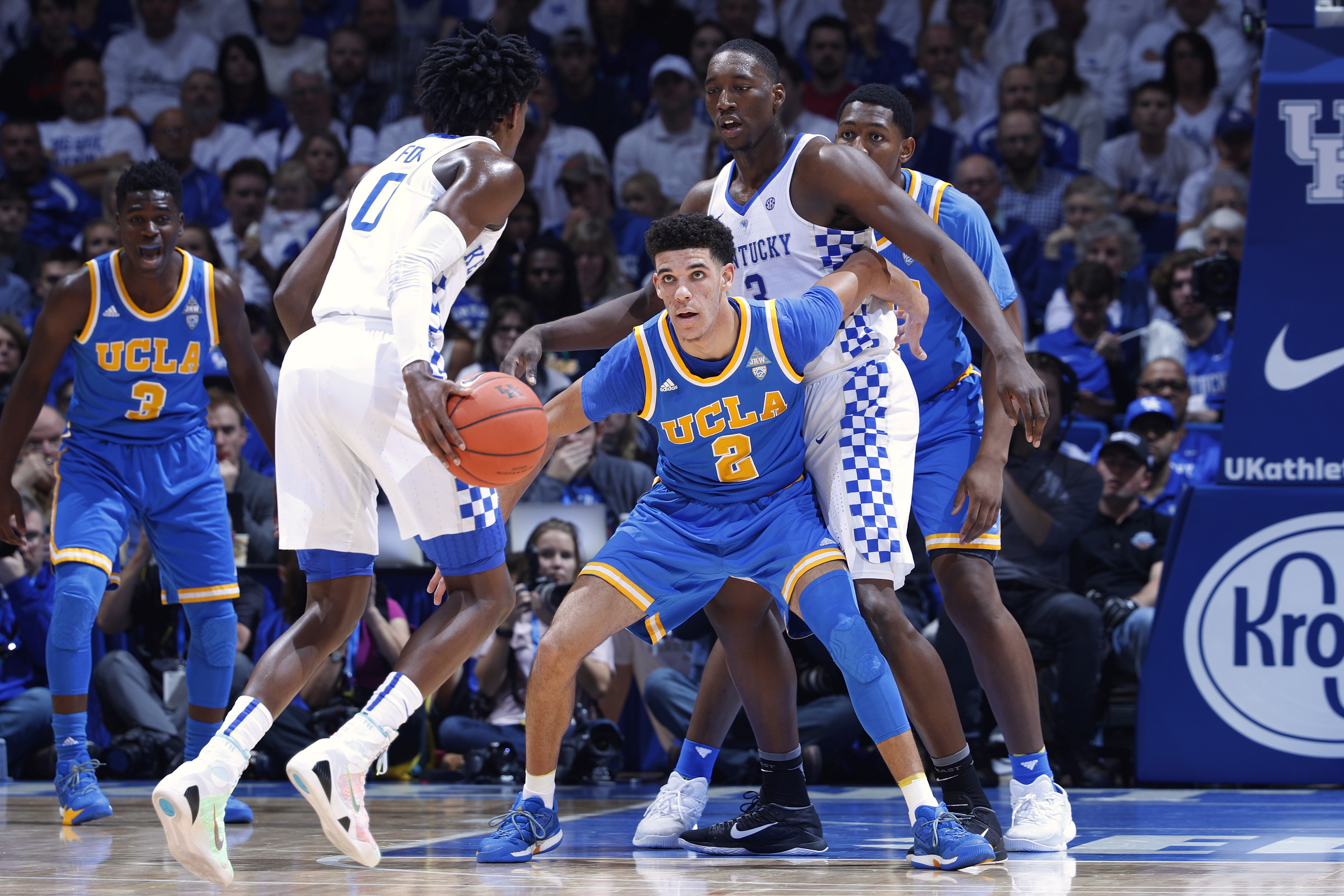 March Madness Ucla Vs Kentucky Predictions May Be Wrong On Lonzo Ball Fortune
