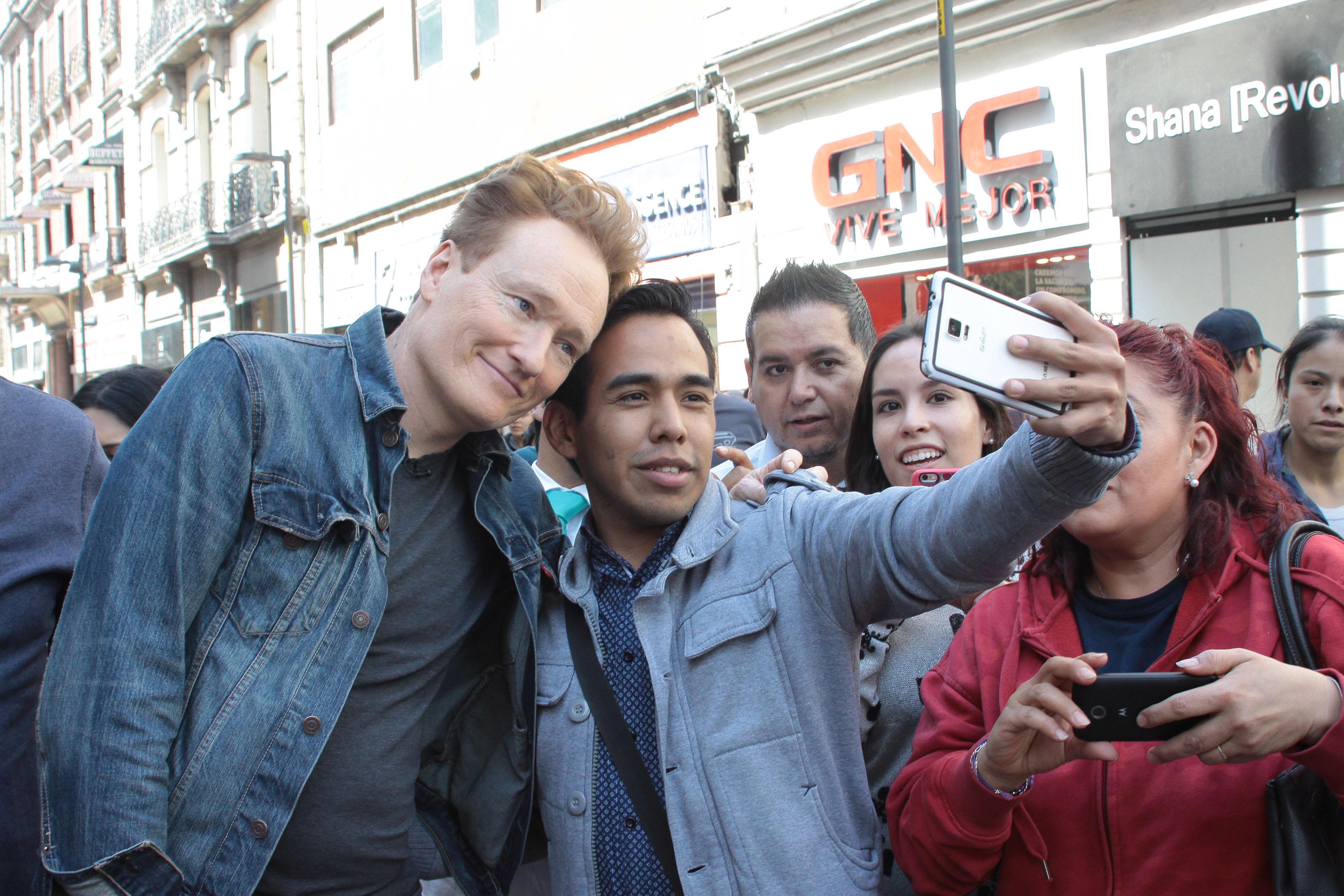 Conan O'Brien Sighting - February 16, 2017