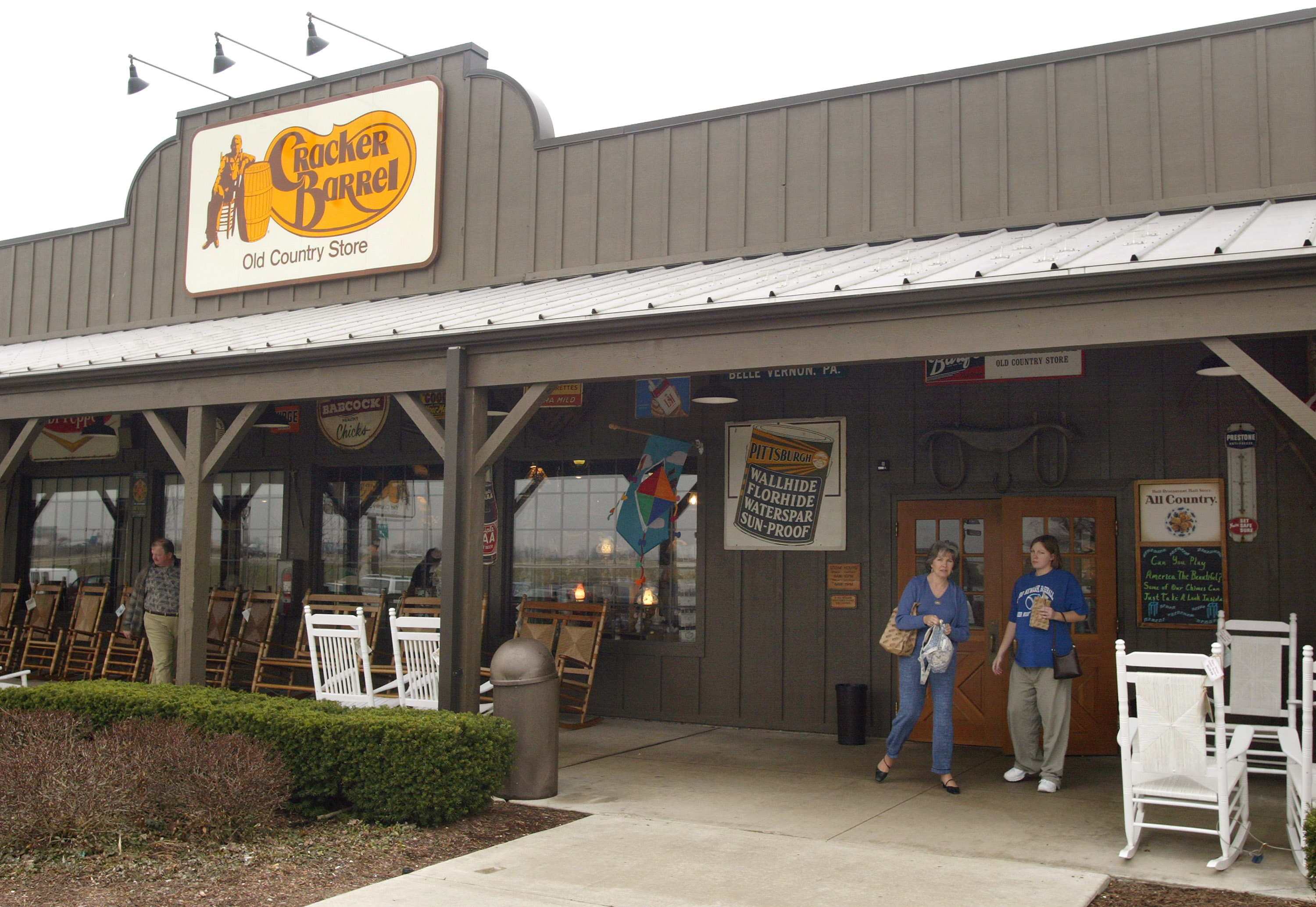 Cracker Barrel.