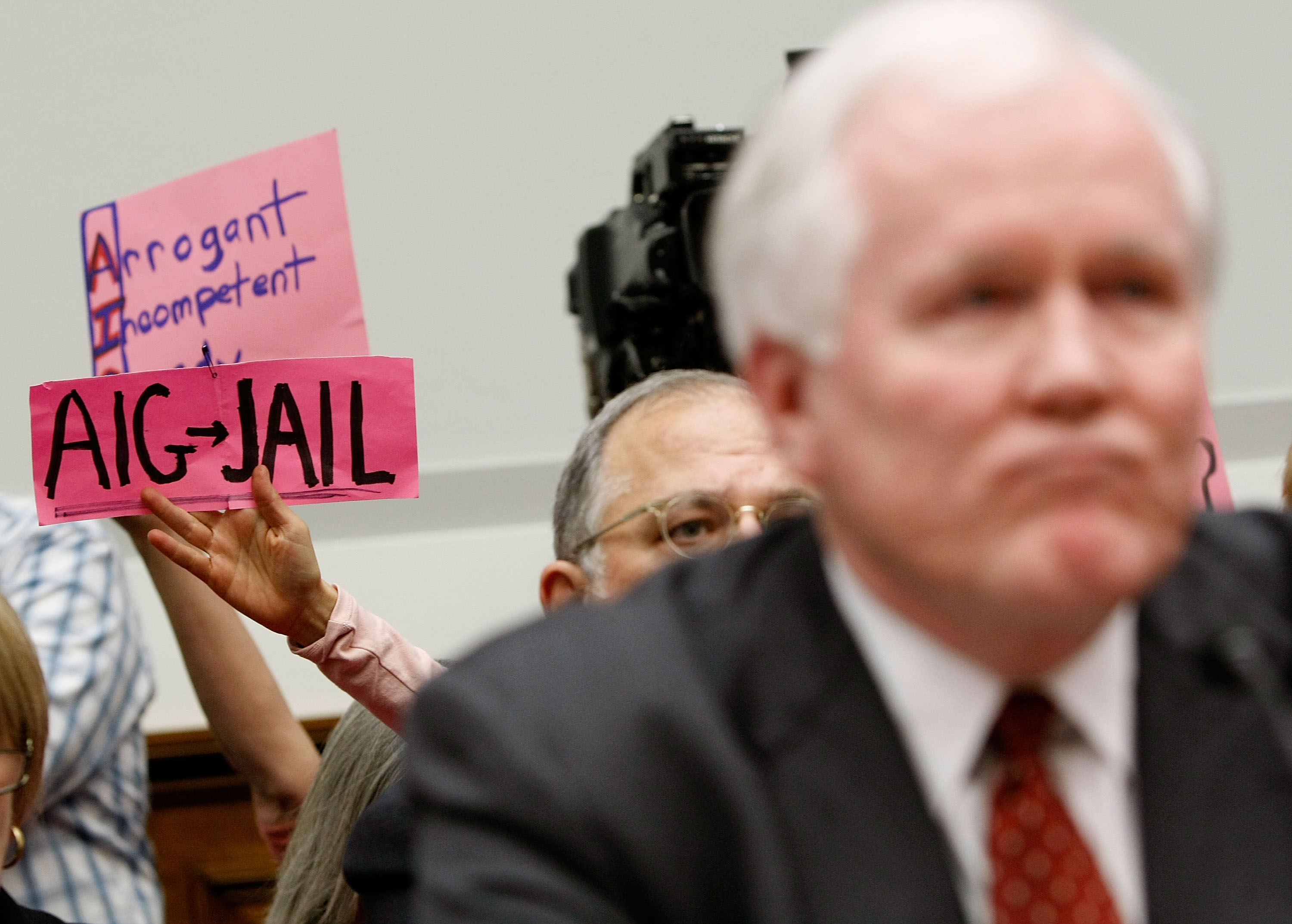 AIG CEO Testifies Before House Financial Services Cmte