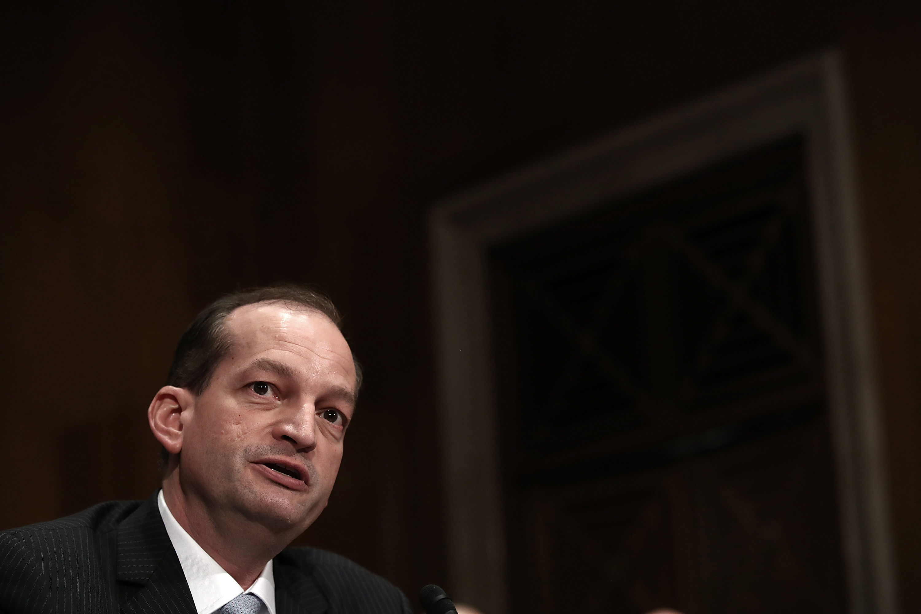 Senate Holds Confirmation Hearing For Alex Acosta For Secretary Of Labor