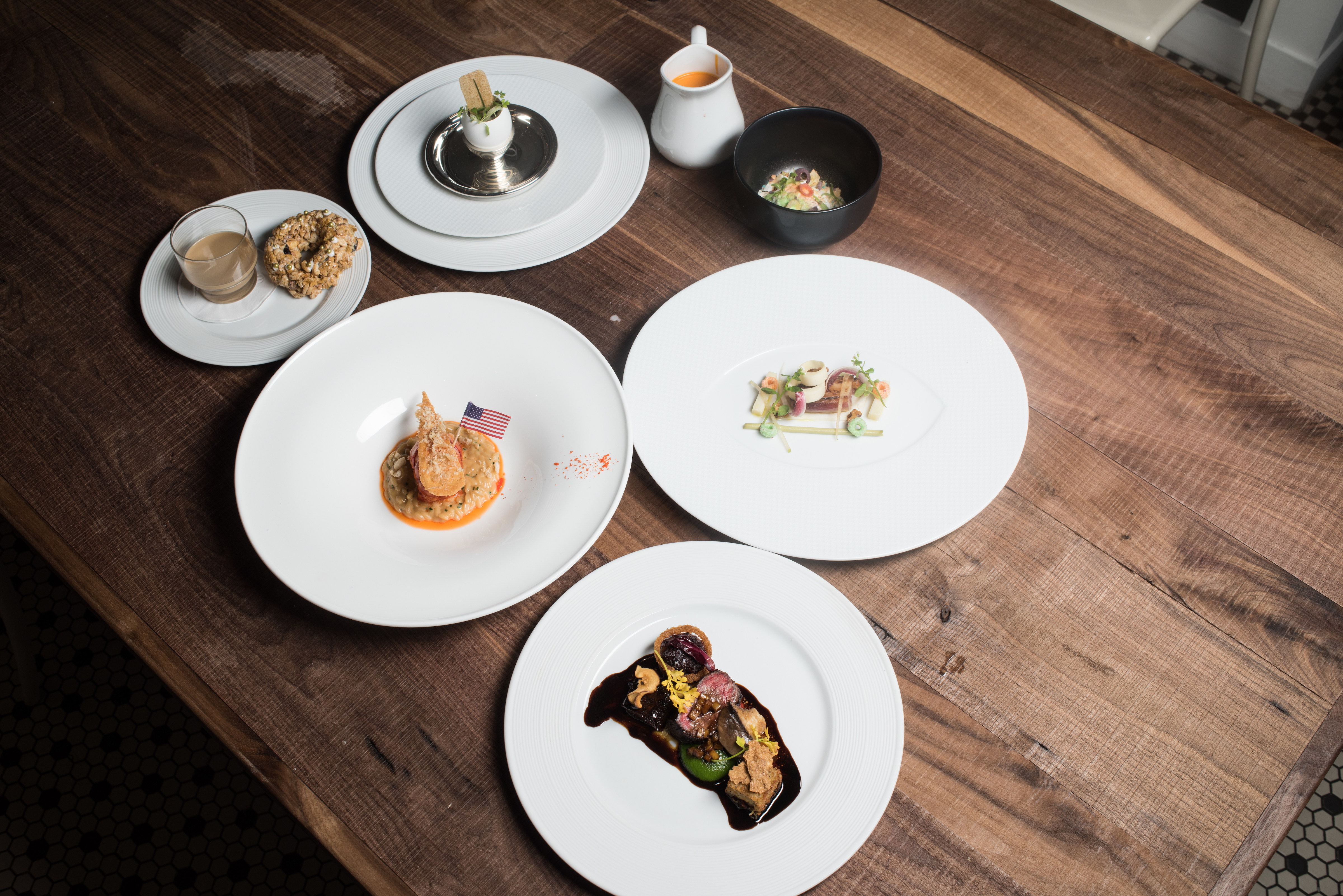 Kellogg created a six-course cereal tasting meal inspired by the signature dishes of professional chefs Thomas Keller and Daniel Boulud. The meal was featured at the cereal maker's NYC restaurant location.