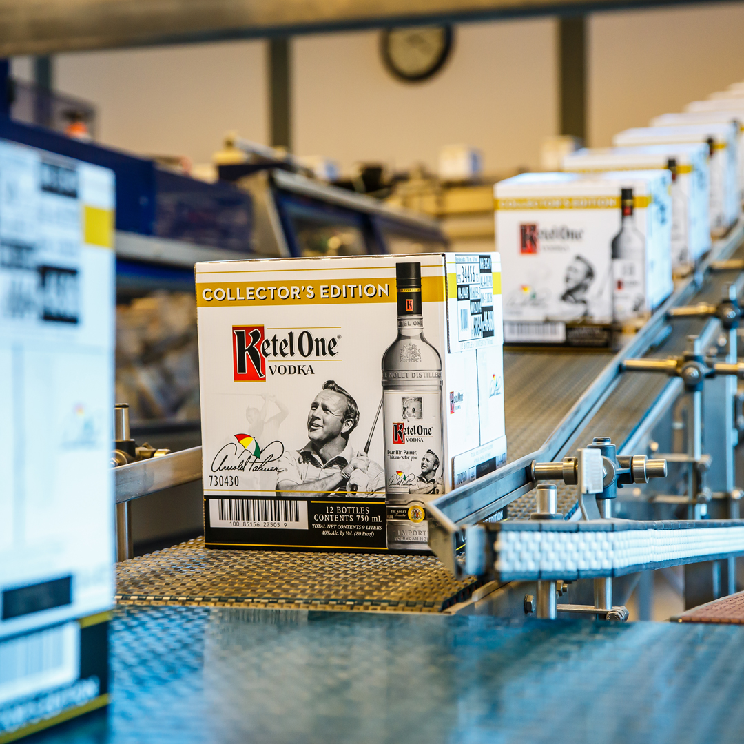 Ketel One is debuting a Arnold Palmer Collector's Edition bottle, commemorating the brand's relationship with the famous golfer.