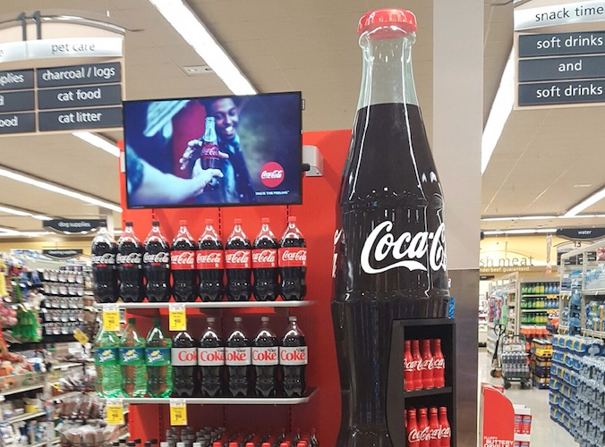 Coca-Cola uses Google technologies to power new signage