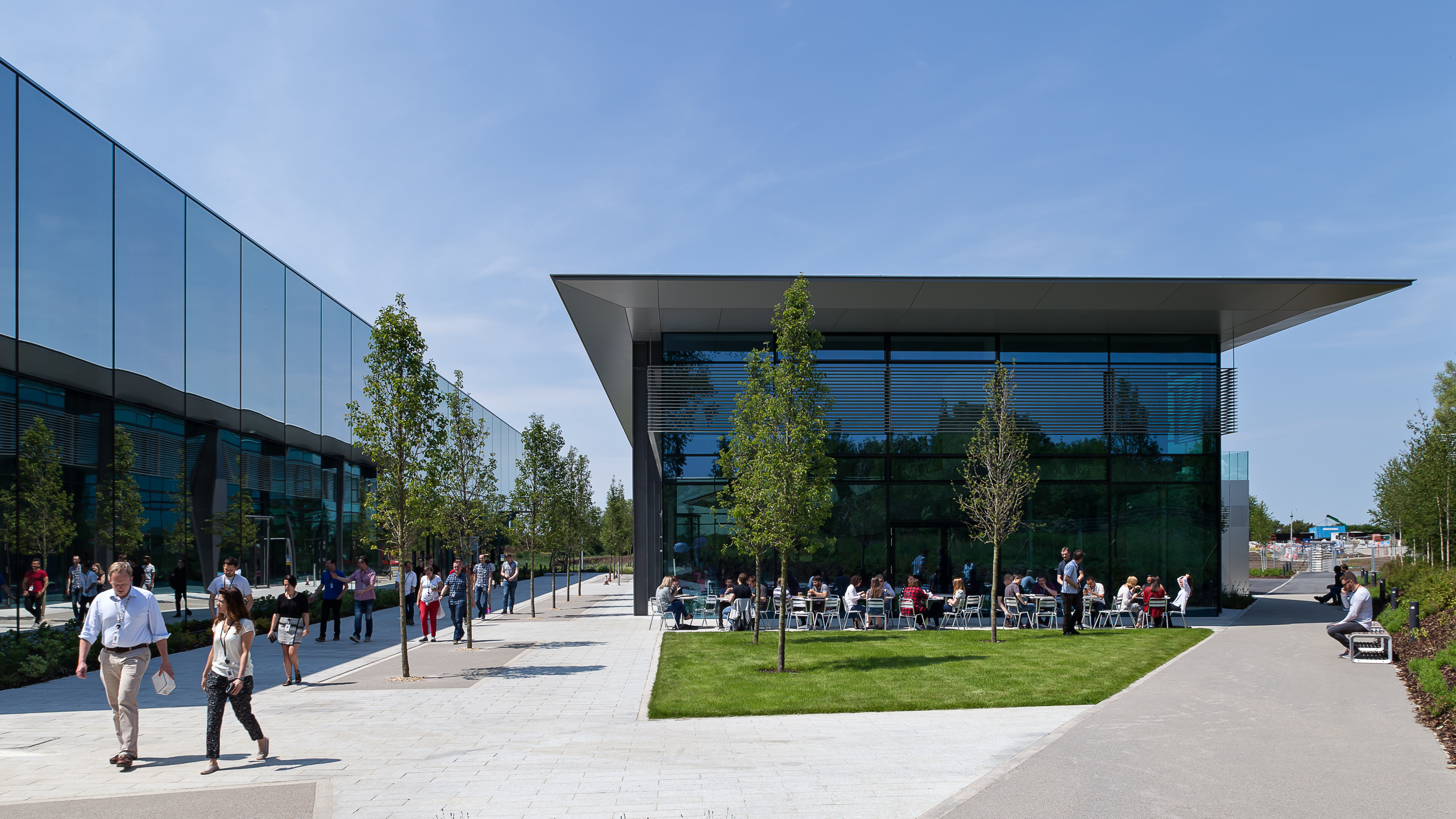 Dyson has already outgrown its existing campus in Malmesbury in England's West Country.