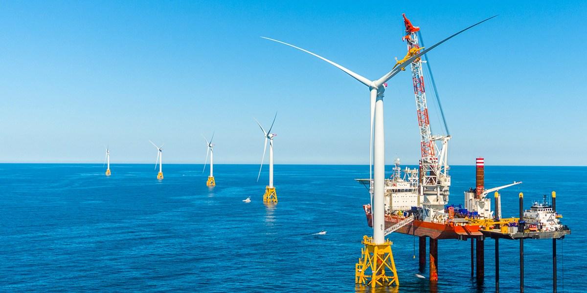 Wind Power Takes to the Seas