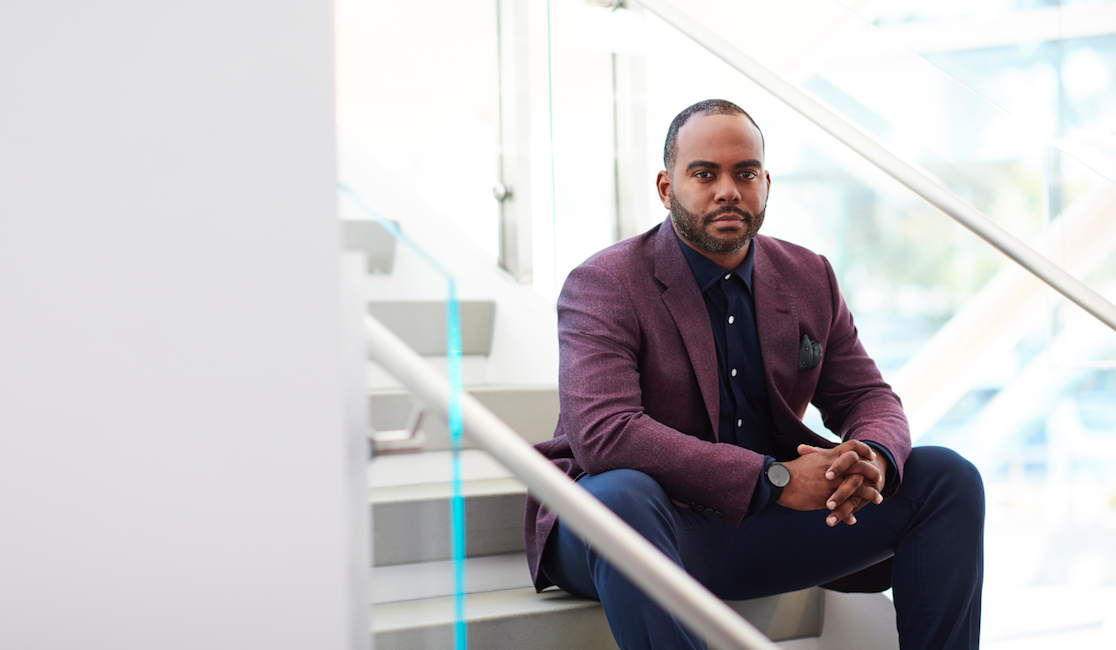 eBay's first Chief Diversity Officer, Damien Hooper-Campbell.