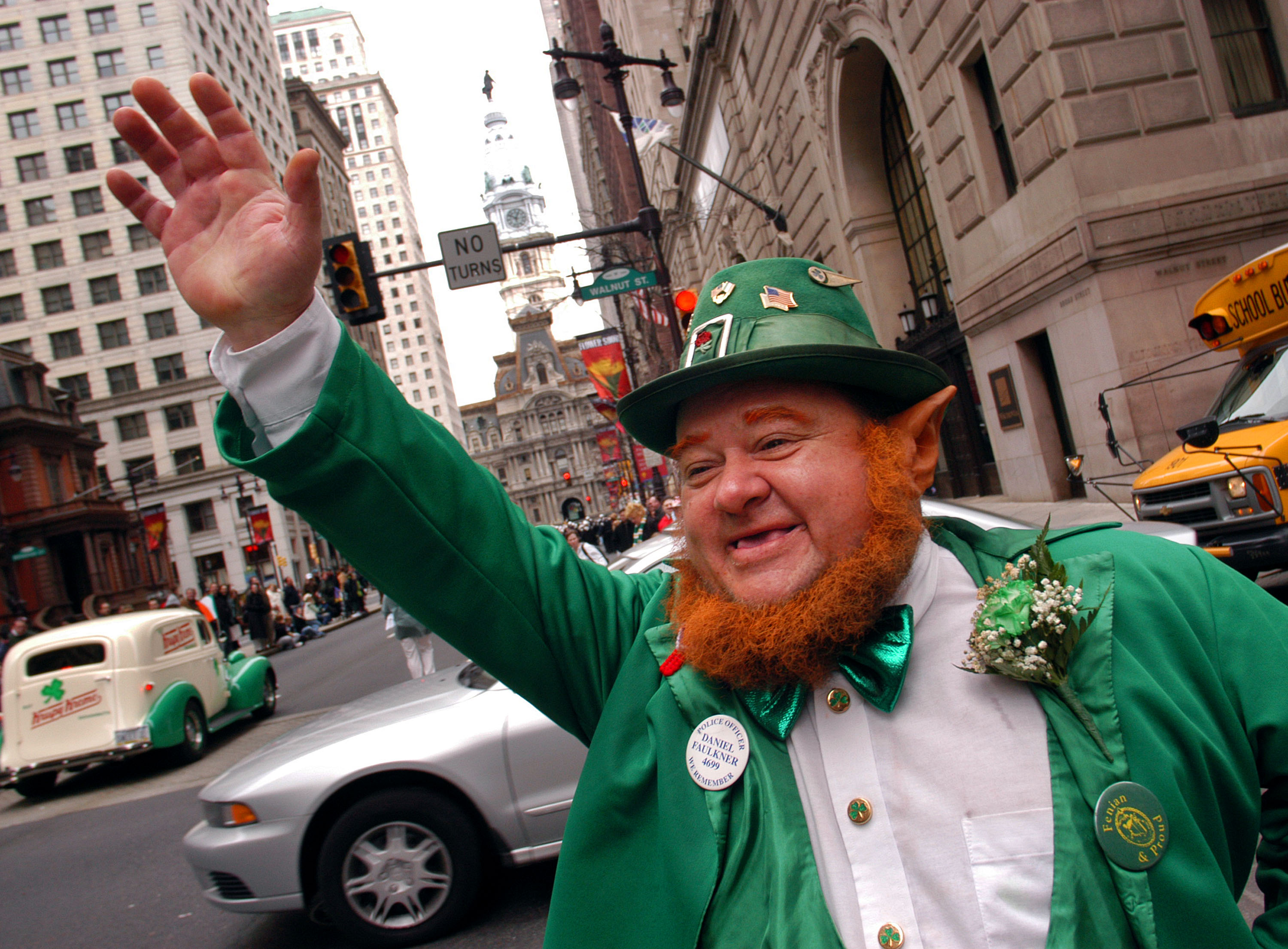 Philadelphia Holds Its 53rd Annual St. Patrick's Day Parade