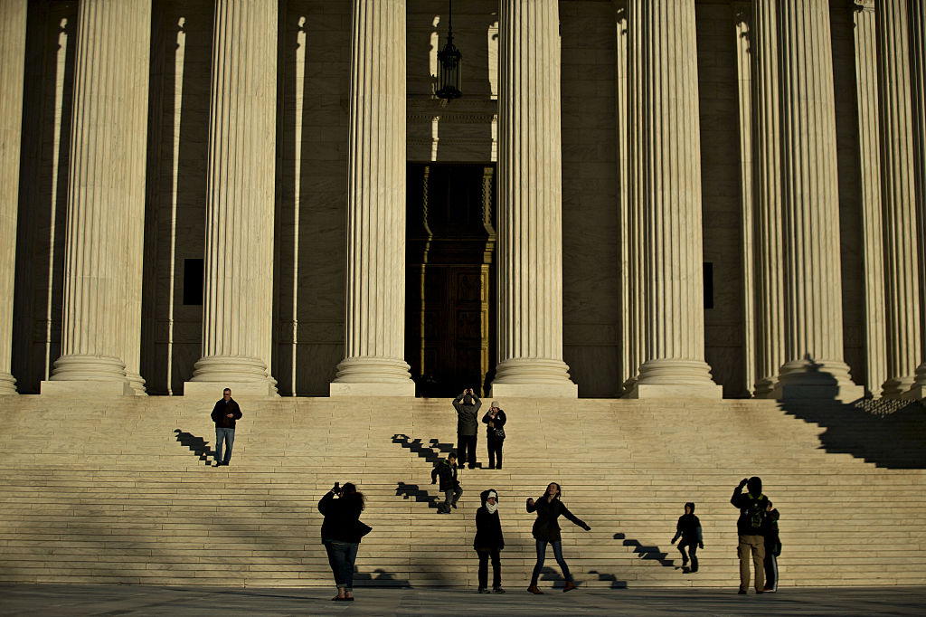 Views Of The Supreme Court Following Justice Antonin Scalia's Unexpected Death