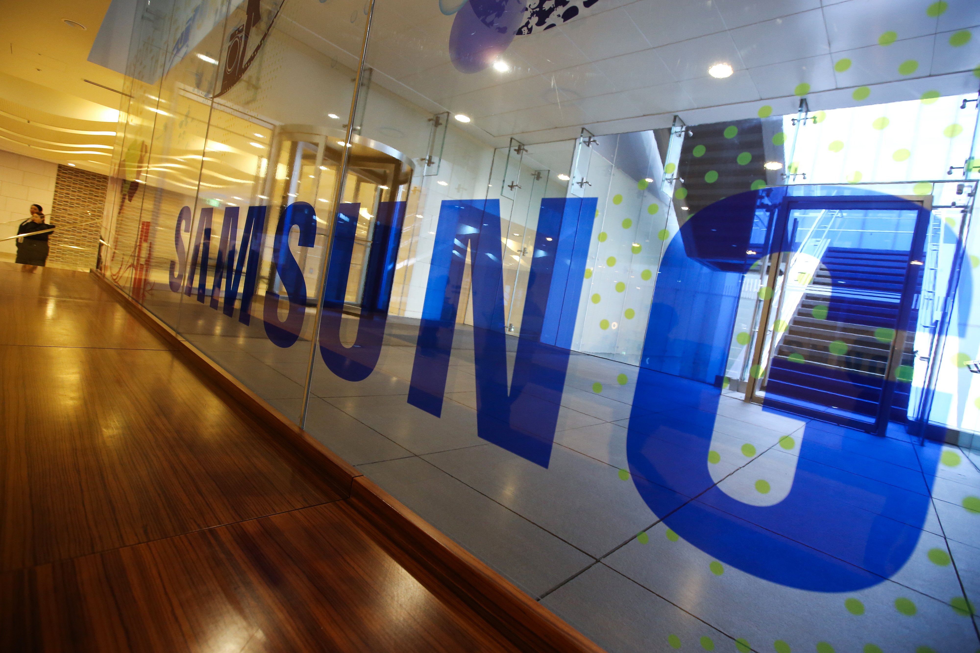 Views Of Samsung Group Buildings As Heir Jay Y. Lee Is Arrested on Bribery Allegations