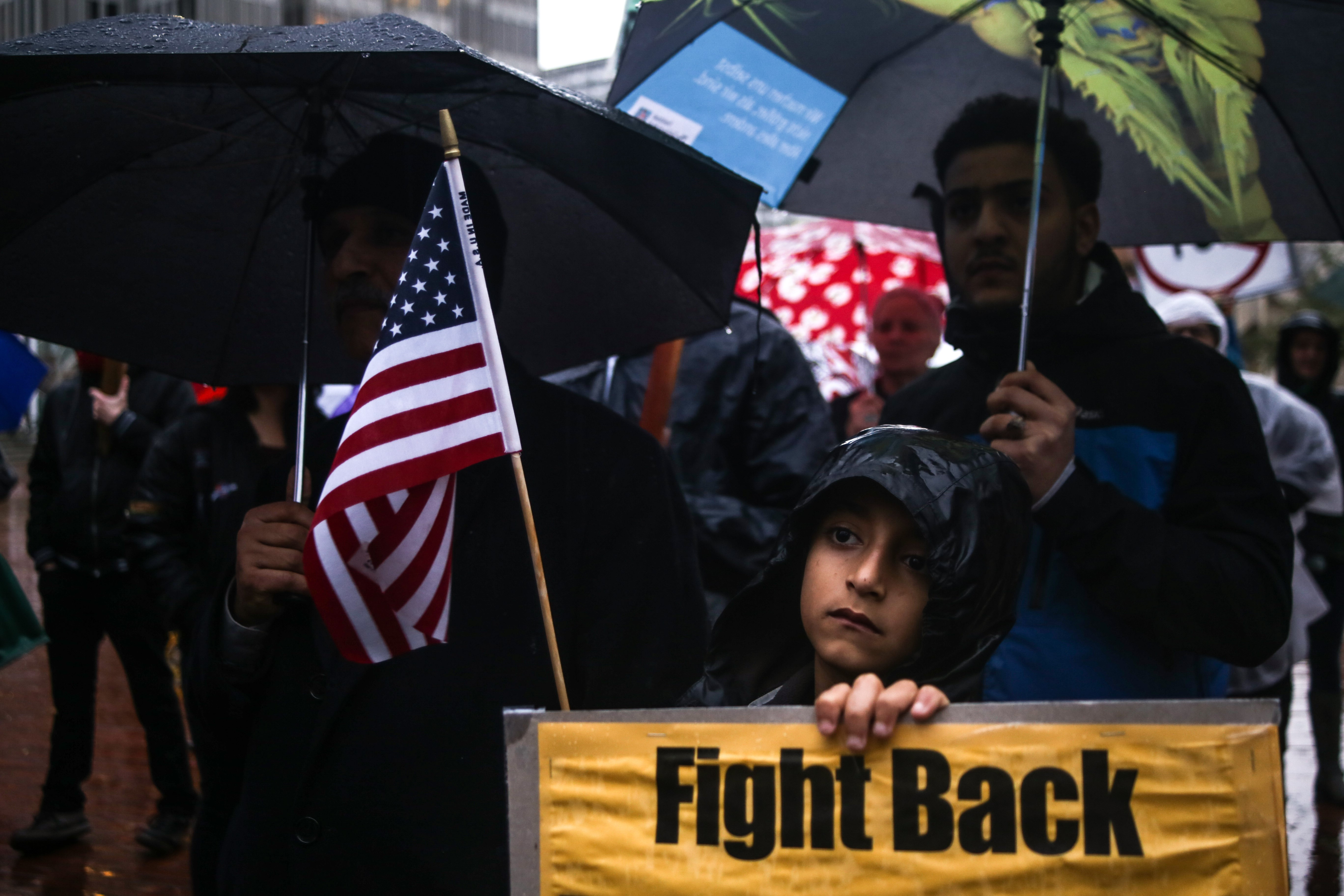 Protest against US President Donald Trump's ICE and deportation programs in San Francisco