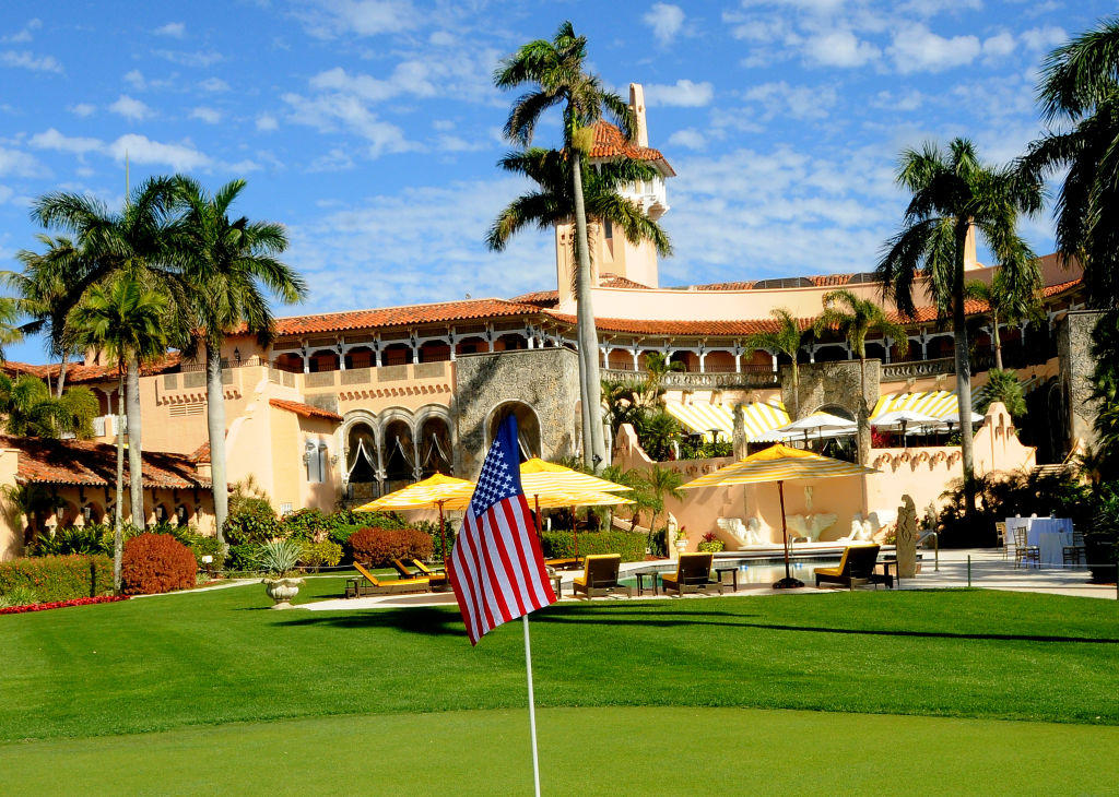 Mar-a-Lago resort in Palm Beach, Florida.