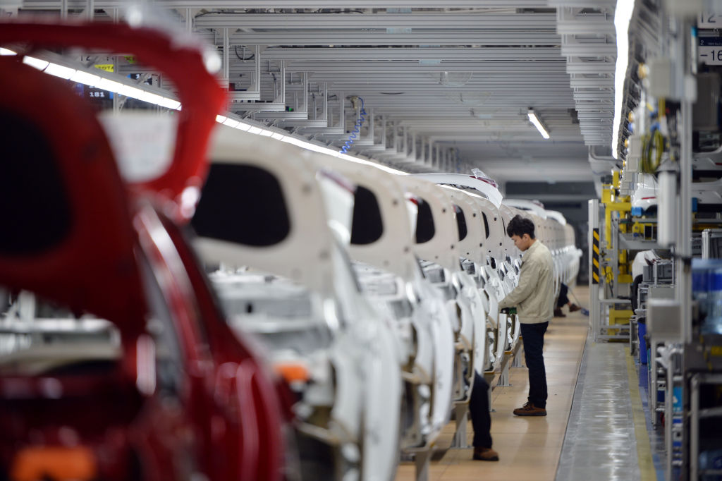 CHINA-ECONOMY-AUTO-HYUNDAI