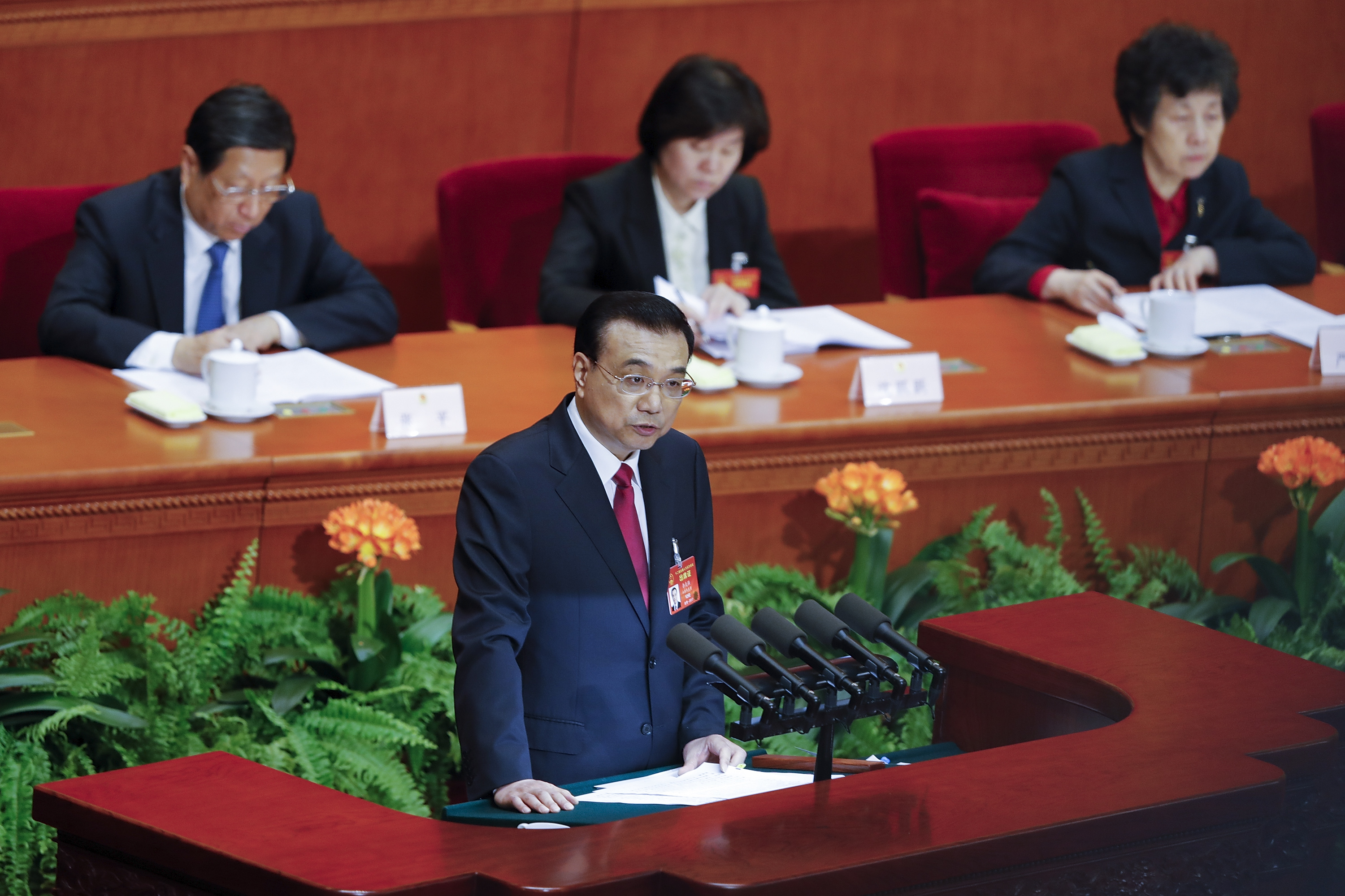 China's National People's Congress - Opening Ceremony