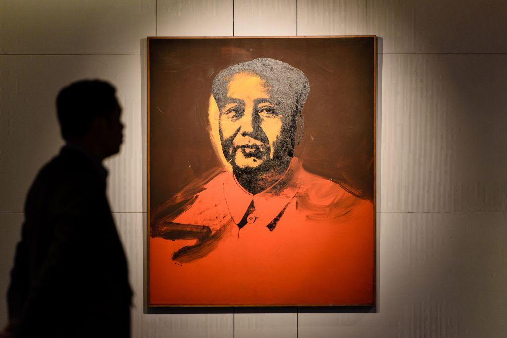 HONG KONG-CHINA-ART-WARHOL-AUCTION