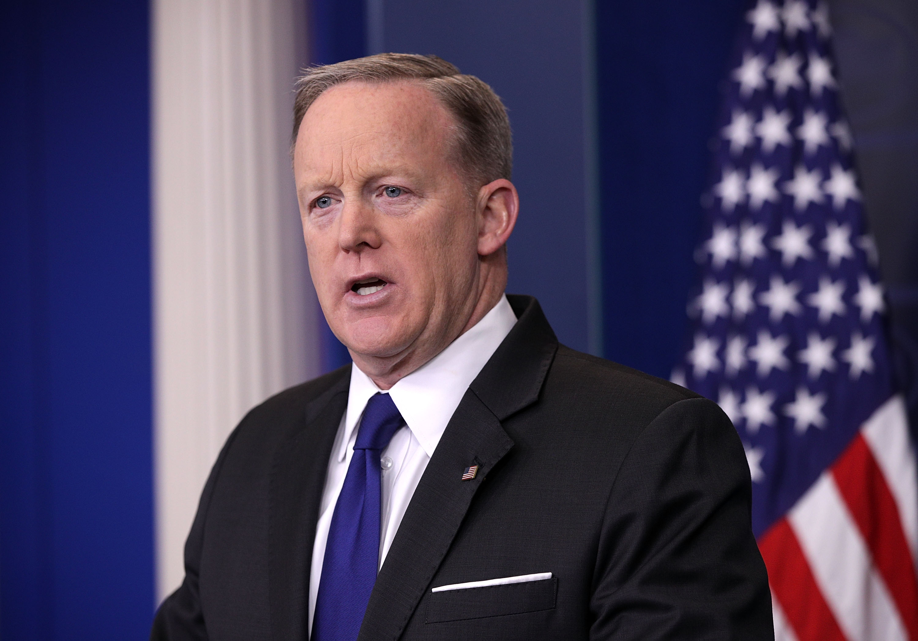 Sean Spicer Holds Daily Press Briefing At White House