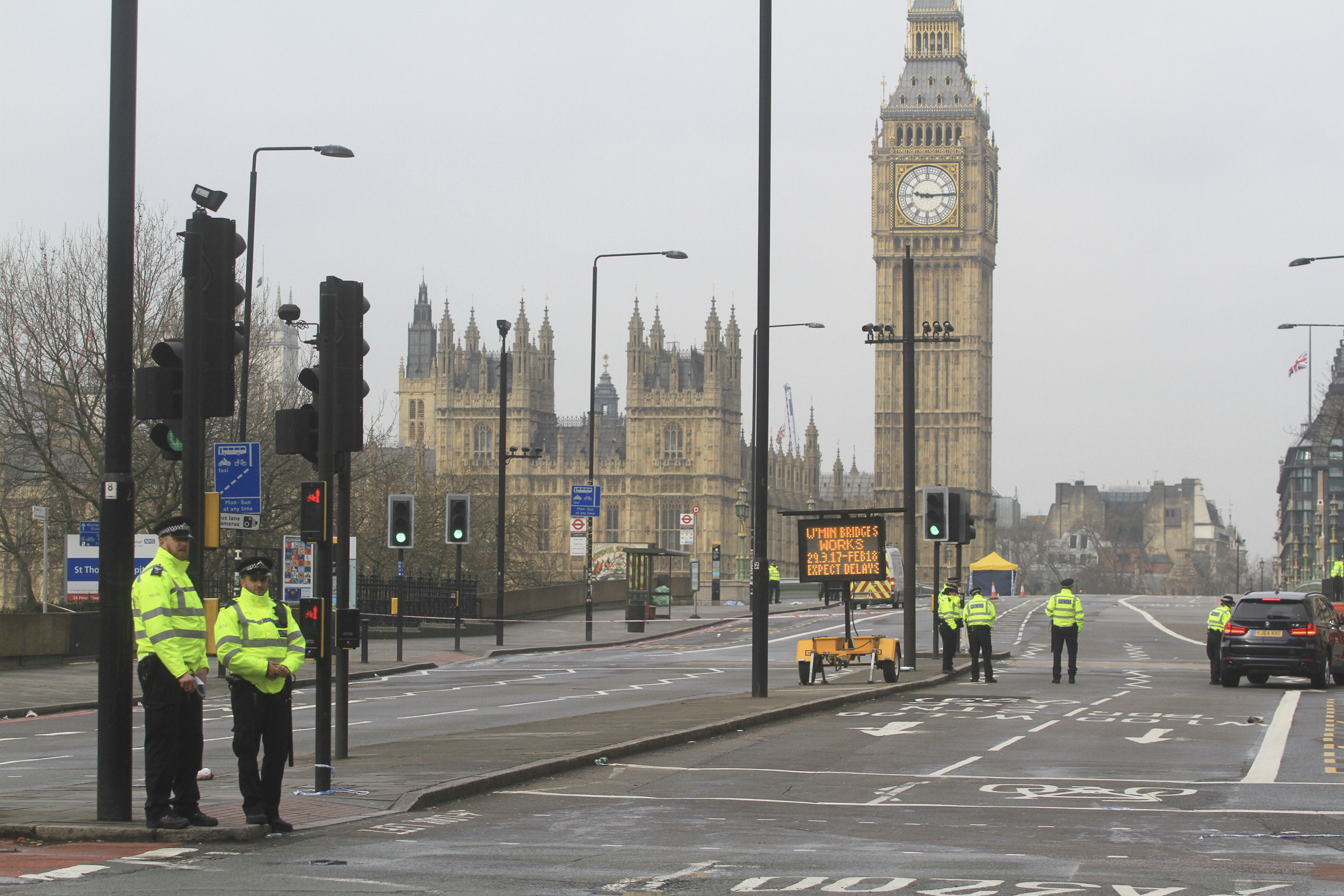 Parliament In Lockdown After London Terror Attack