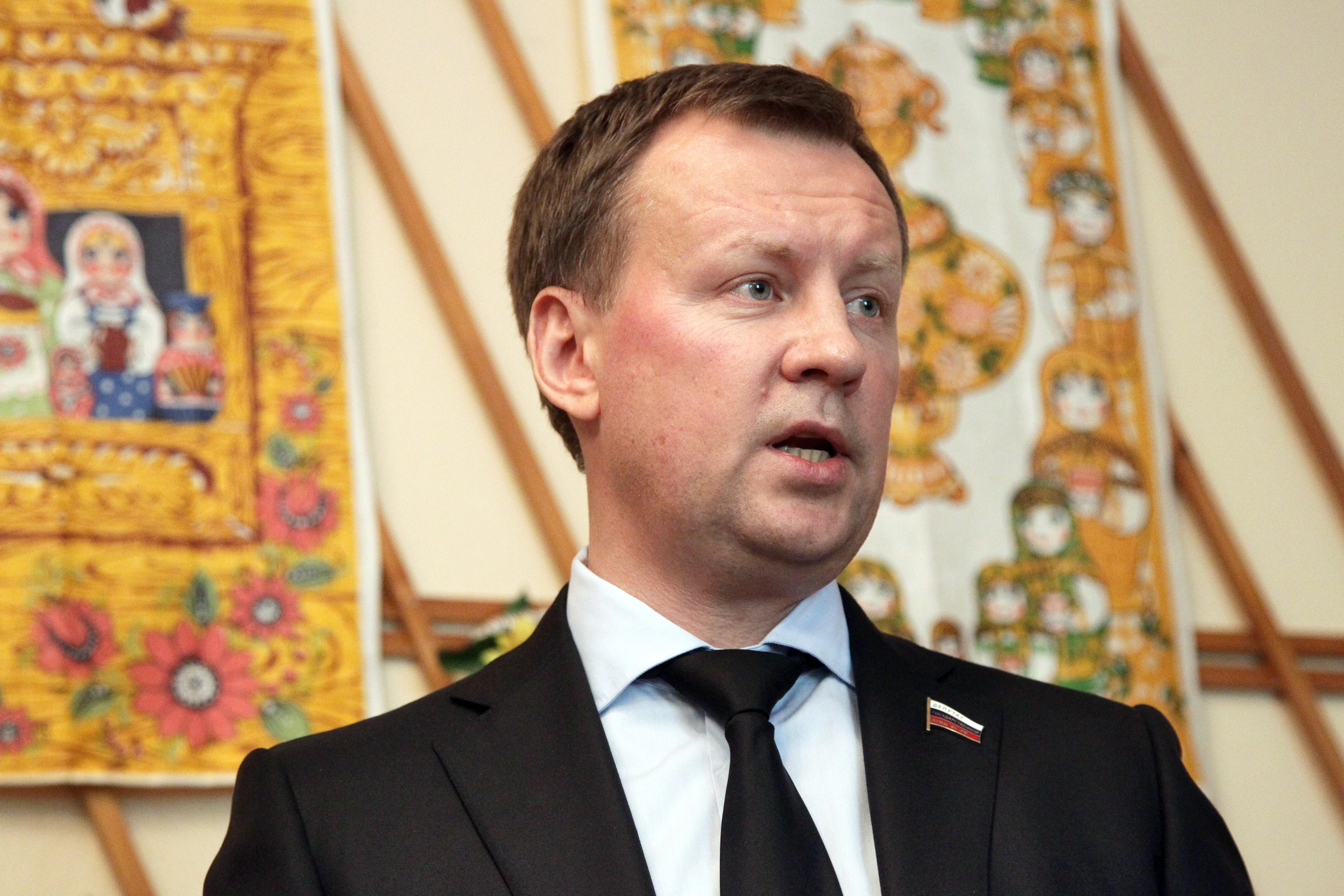 Portrait Of Denis Voronenkov, A Former Russian State Duma Member.