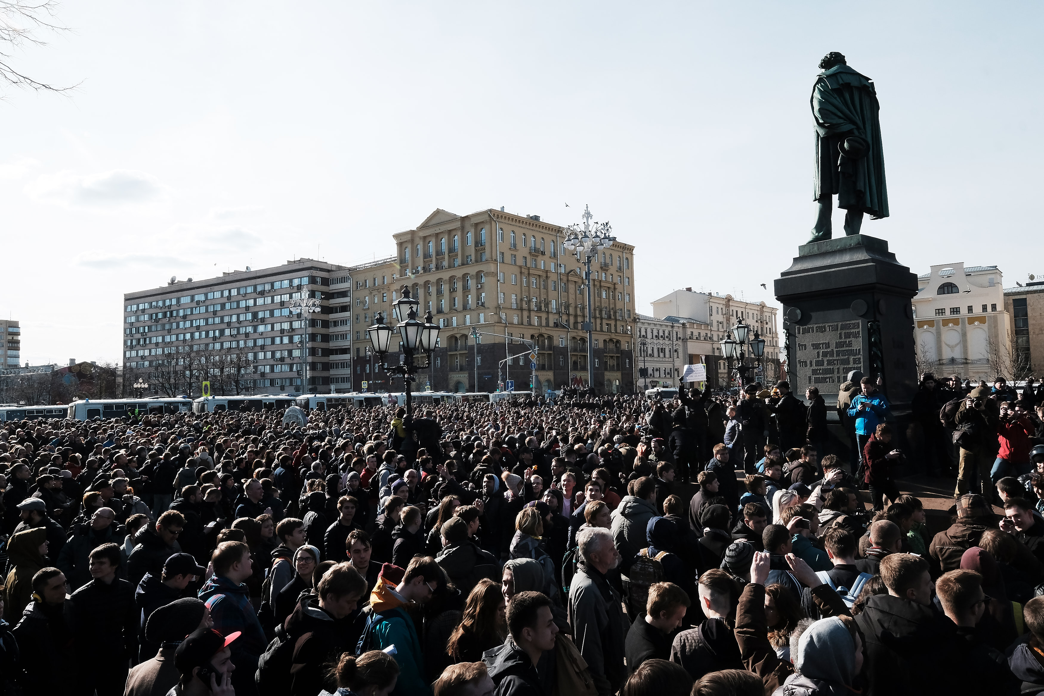 Anti-Corruption Protest In Moscow