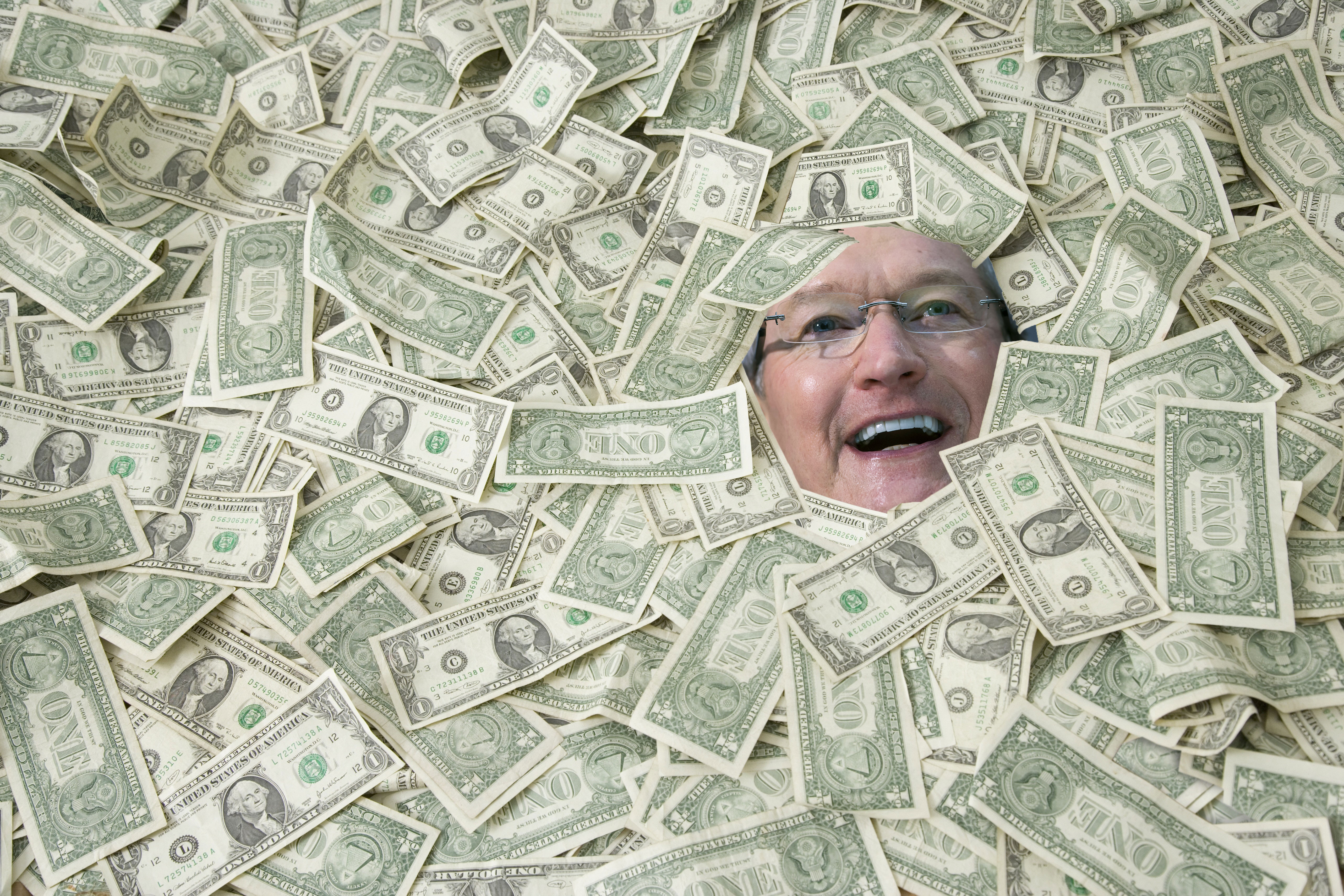 A $1 trillion market cap for Apple is within sight if all goes well.