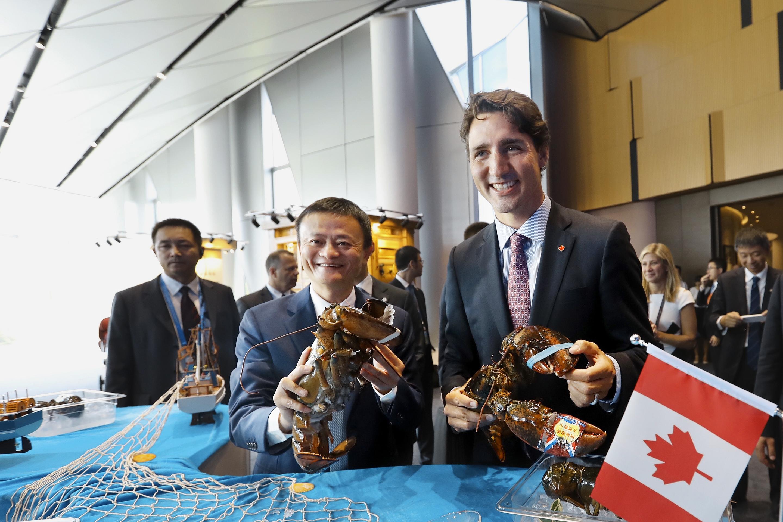 Canadian PM Justin Trudeau Visits Alibaba's Xixi Campus In Hangzhou