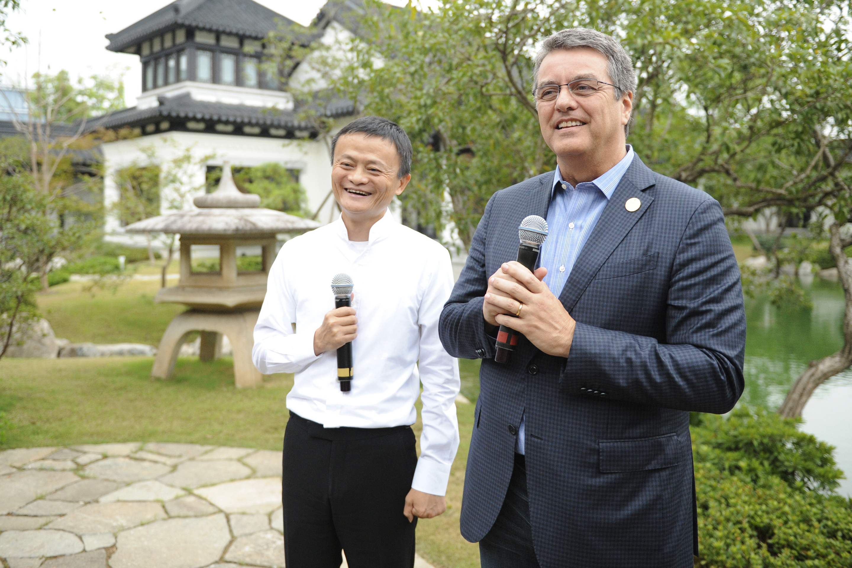 WTO Director-General Roberto Azevedo Visits Alibaba Group In Hangzhou