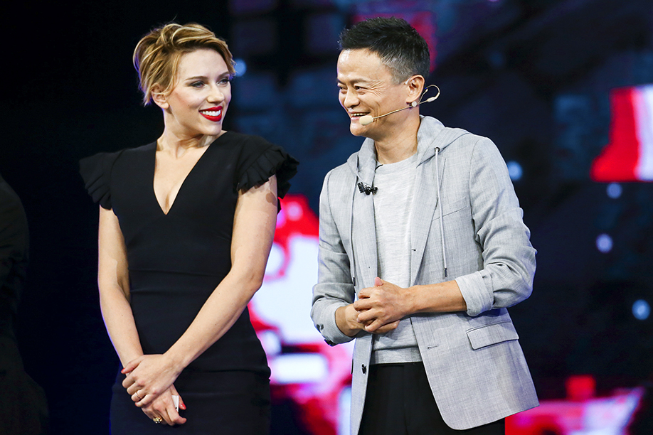Scarlett Johansson Attends Global Shopping Festival Gala In China