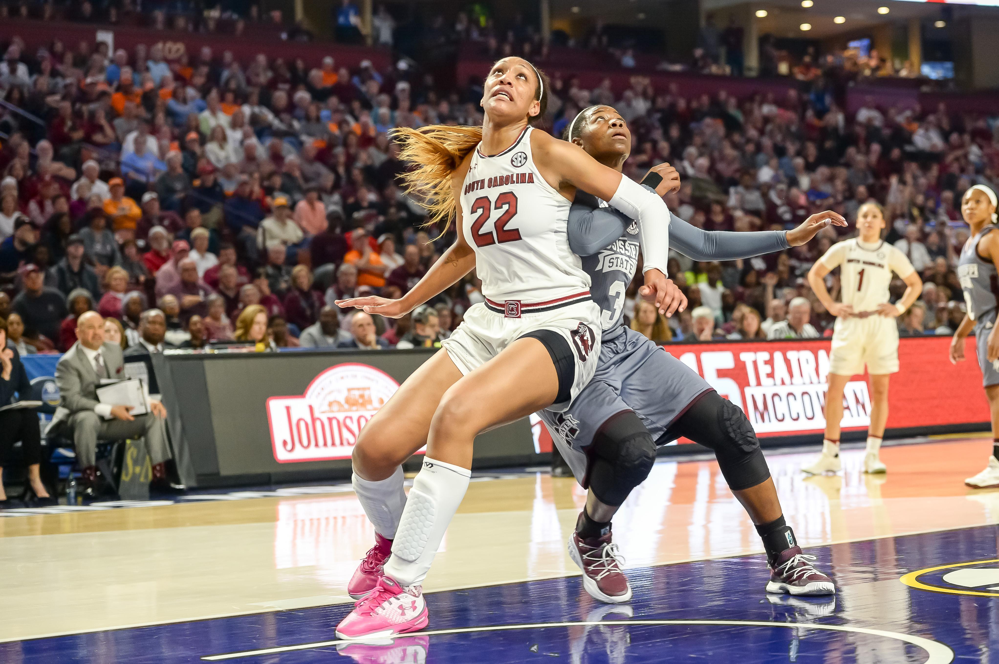 COLLEGE BASKETBALL: MAR 05 SEC Women's Tournament - South Carolina v Mississippi State