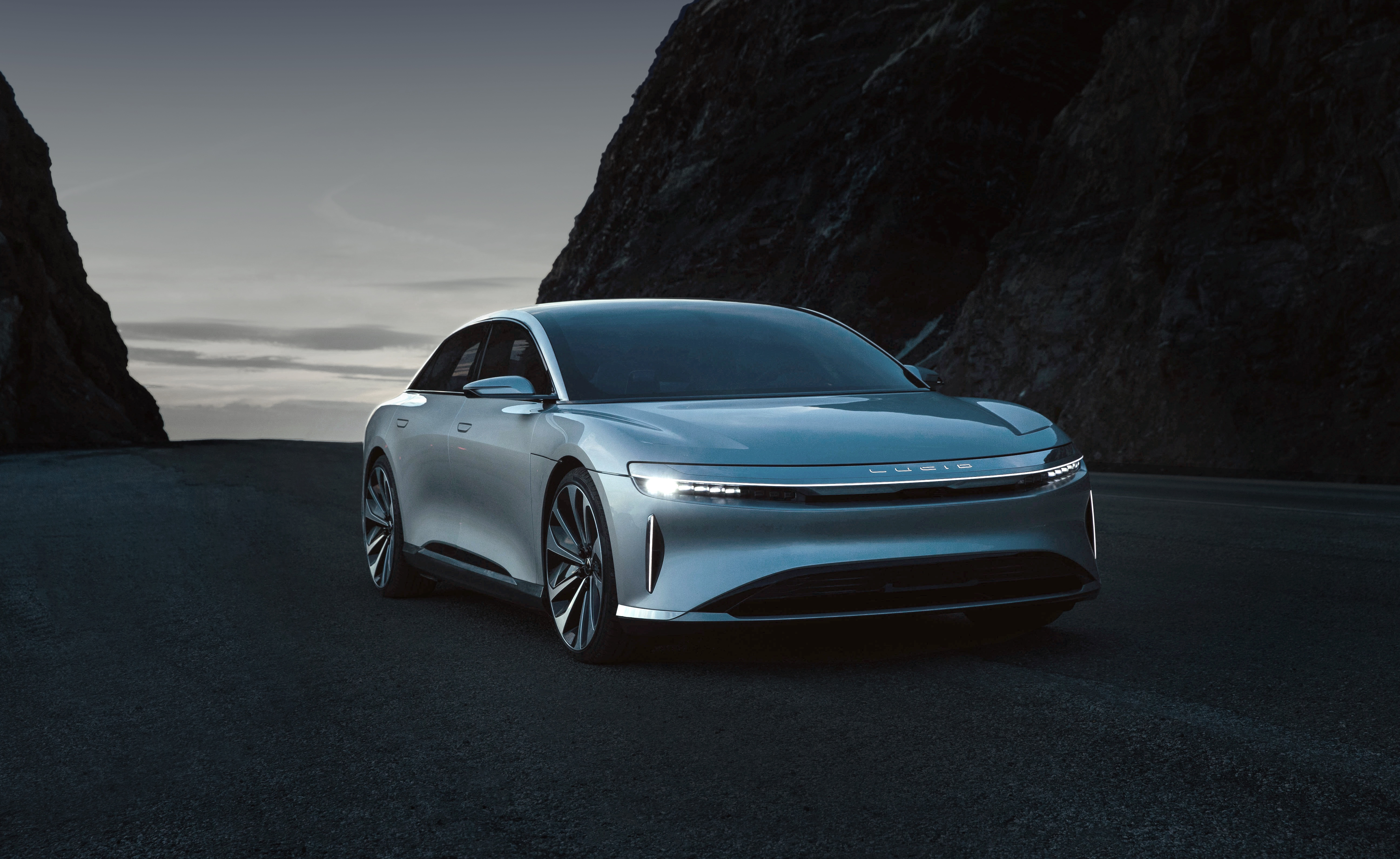 Lucid Air, the upcoming electric vehicle by Lucid Motors.