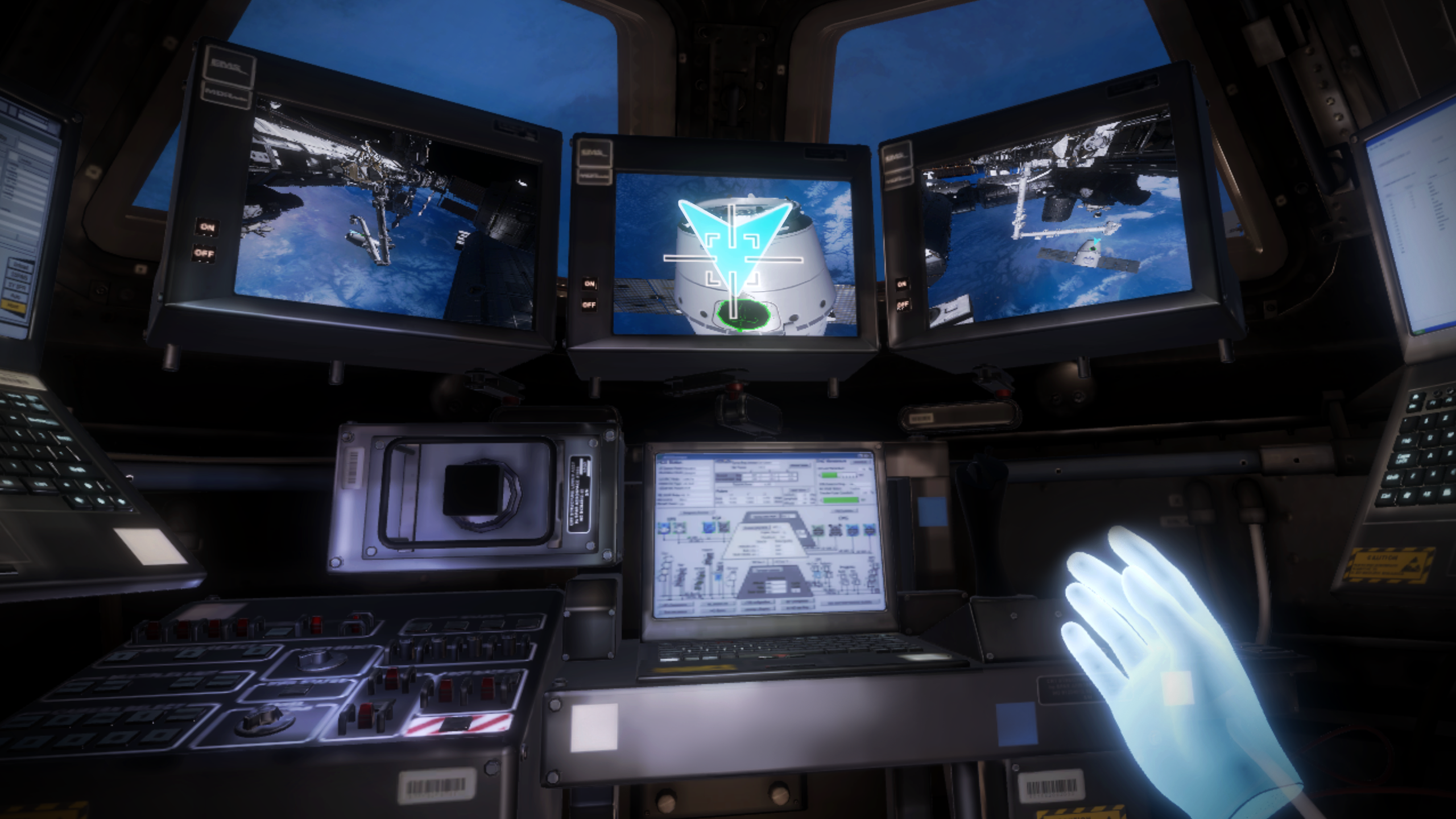 New Mission:ISS VR app.