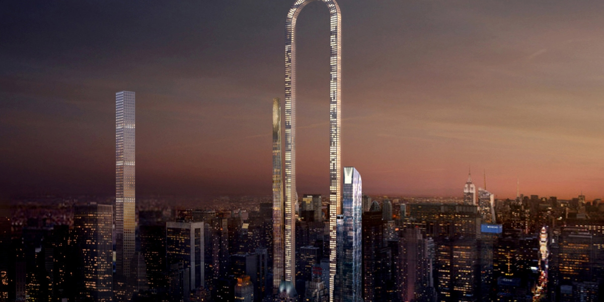 New York City's Skyline Would Look a Lot Different With This Futuristic Skyscraper