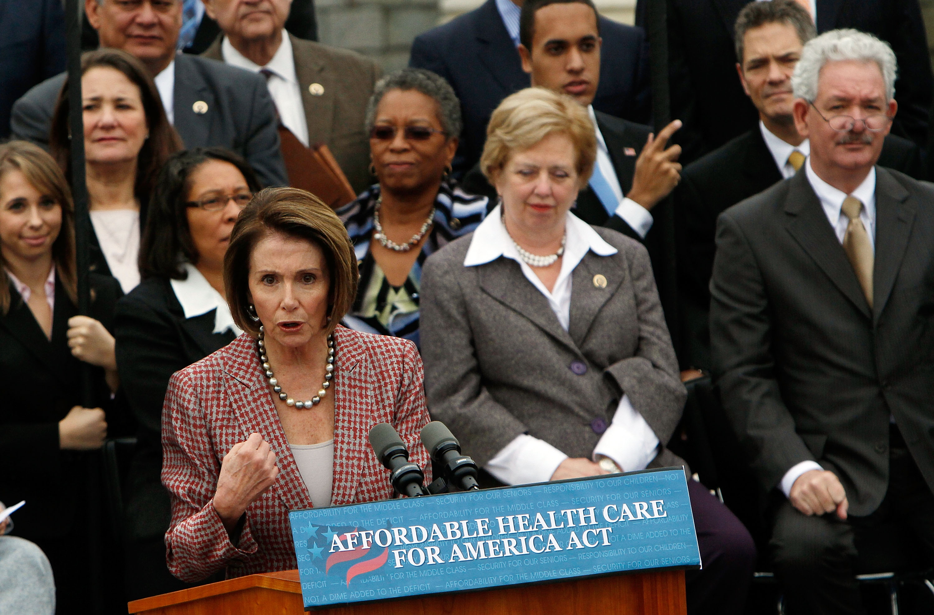 Pelosi, House Leaders, Unveil Affordable Health Care for America Act