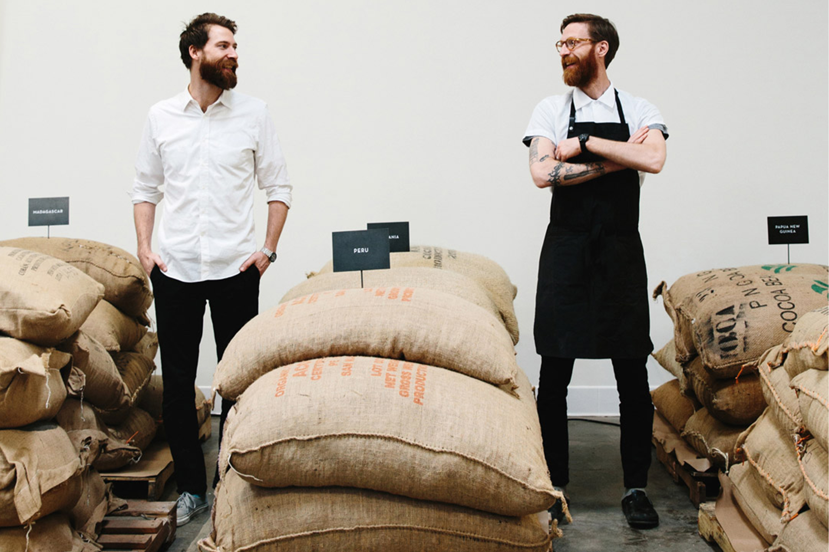 Mast Brothers, a Brooklyn-based craft chocolate maker, was founded in 2007 by brothers Michael and Rick Mast.