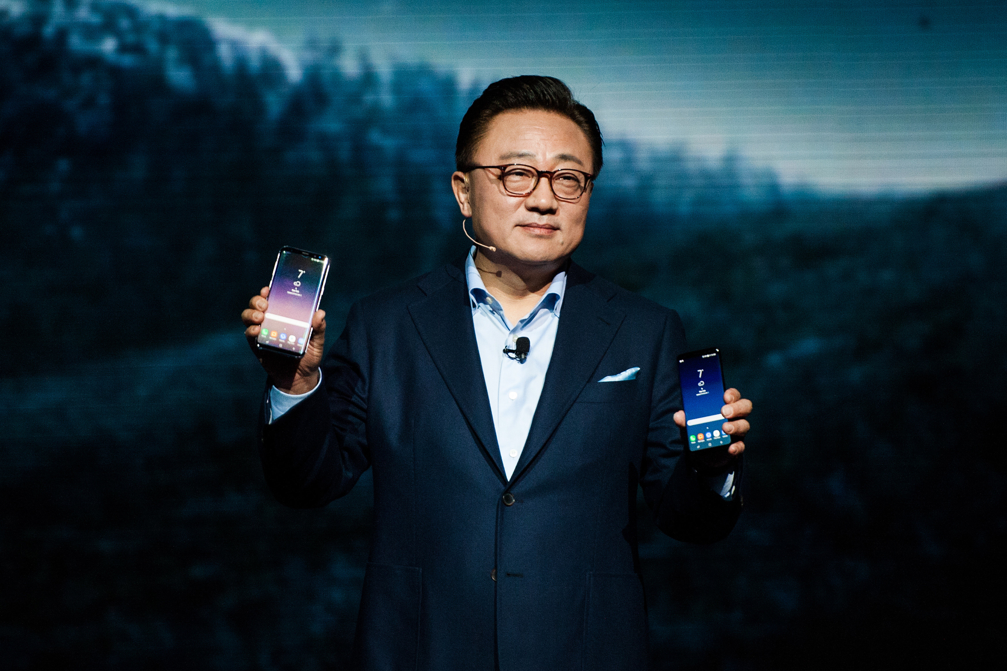 Inside The Samsung Electronics Co. Unpacked Product Launch Event
