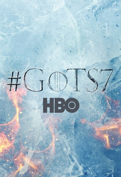 HBO unveils the season 7 teaser poster for 'Game of Thrones' at SXSW 2017.