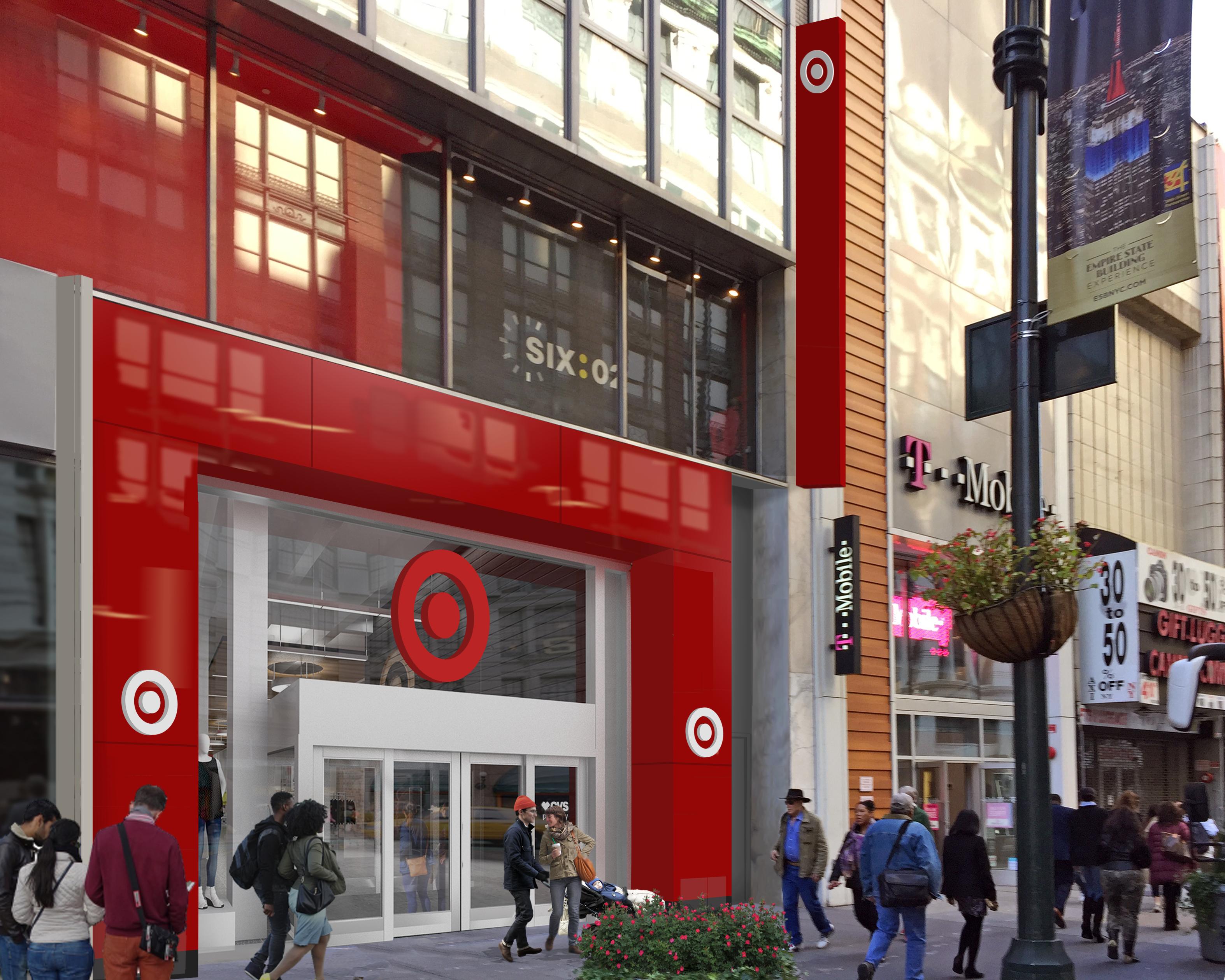 Rendering of the Target in Midtown Manhattan. Courtesy of Target.
