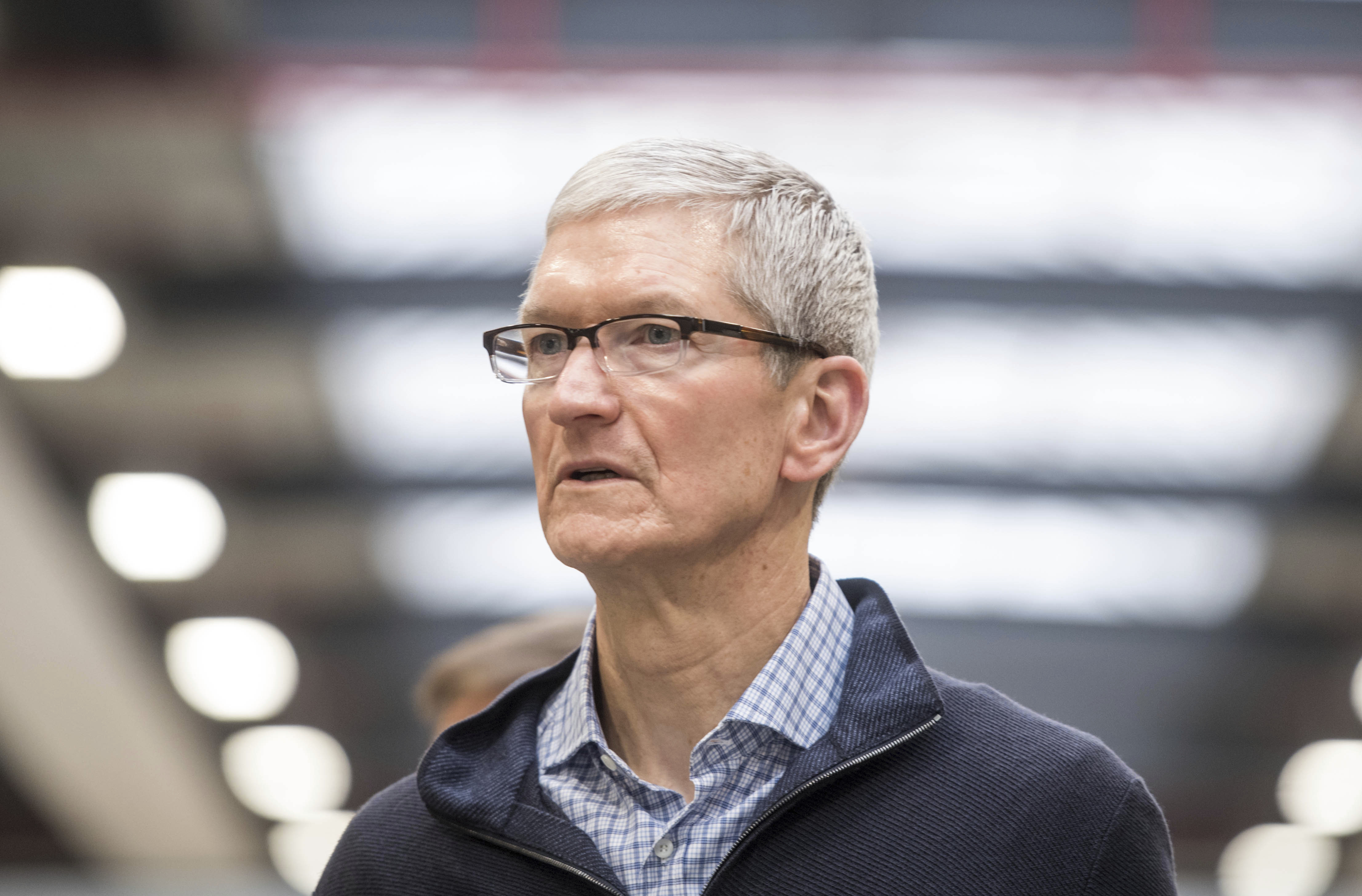 Tim Cook in Germany