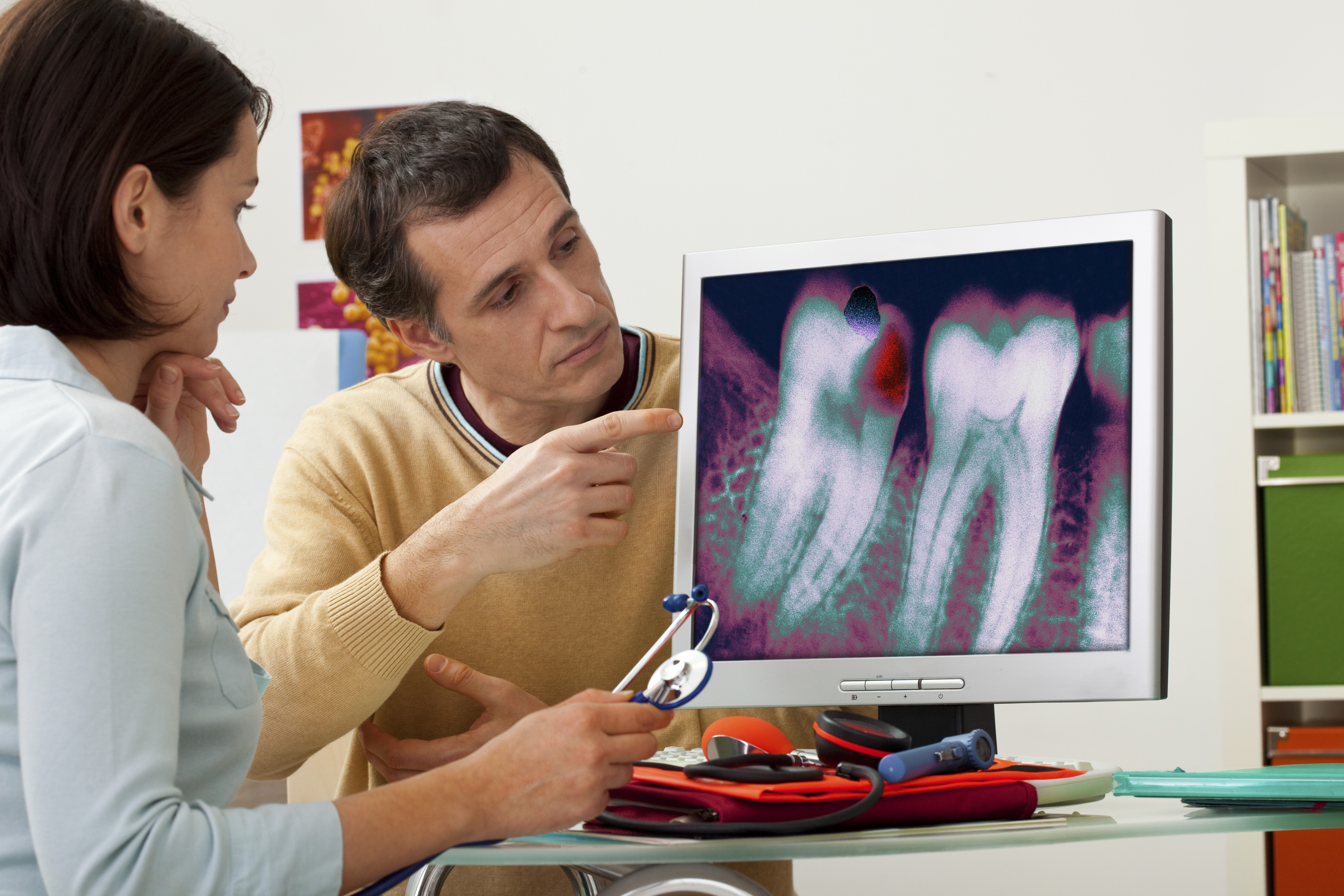 Tooth Decay, X-Ray