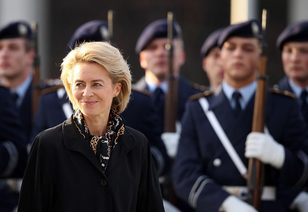 New Defense Minister Von Der Leyen Takes Office