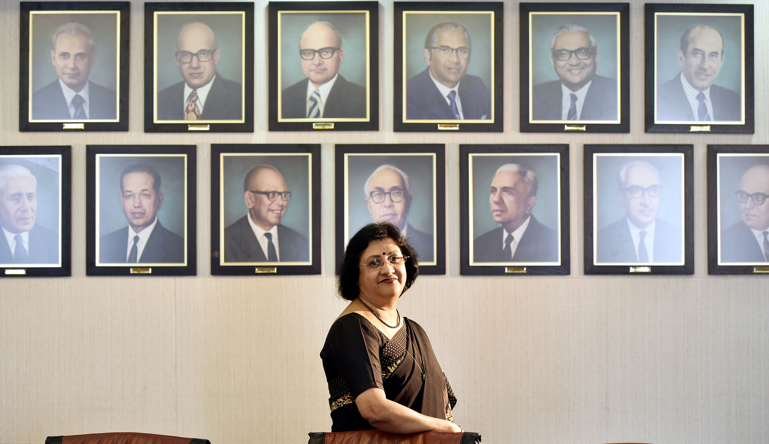 Interview Of SBI Chairman Arundhati Bhattacharya