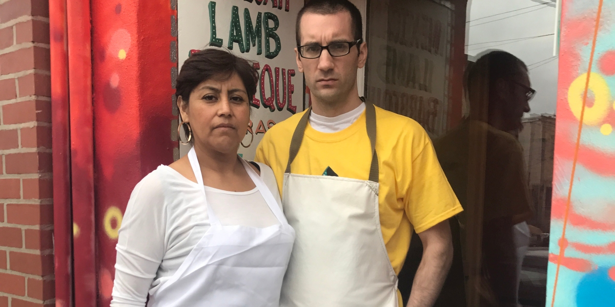 Made By Immigrants Chef apron