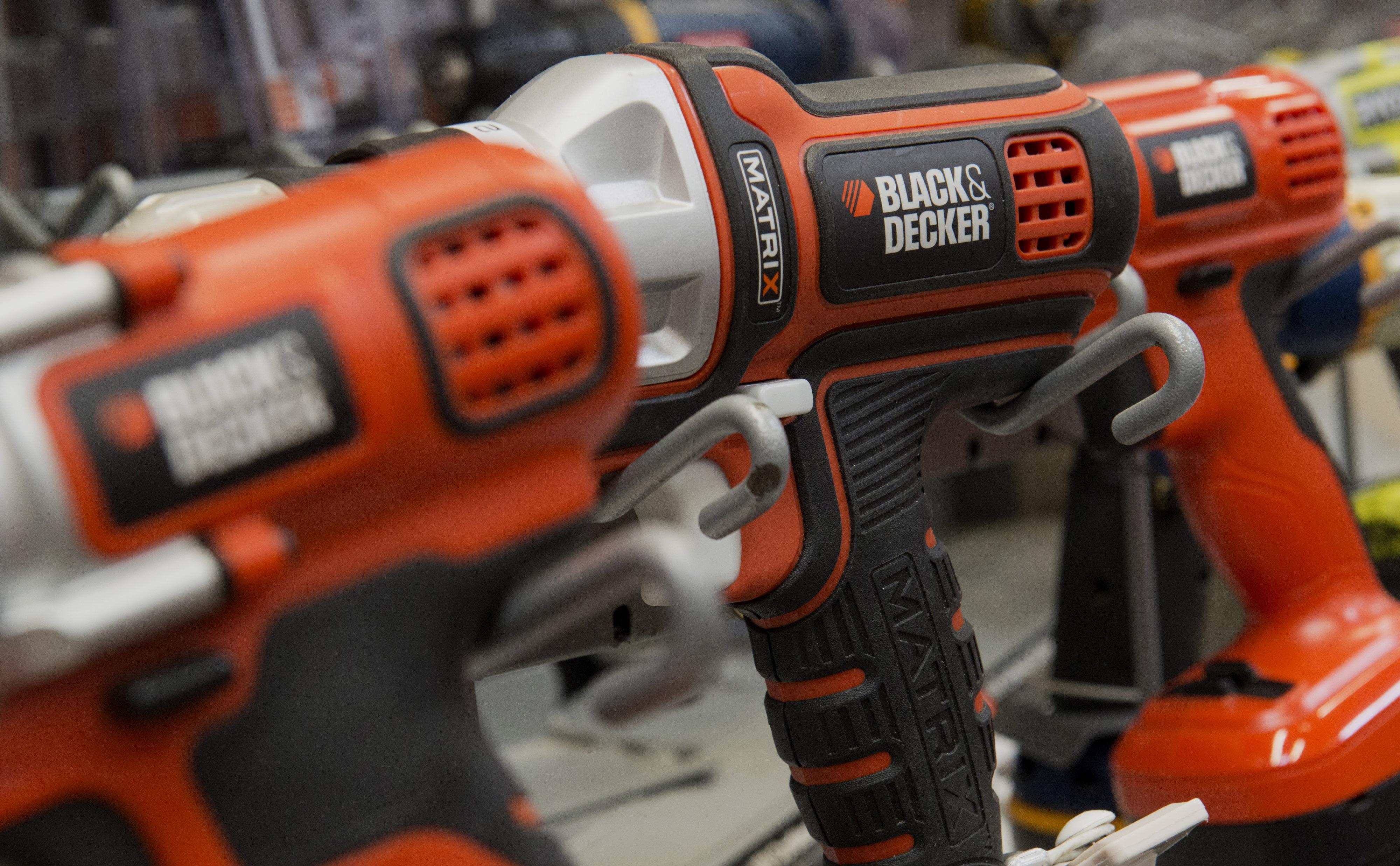 Stanley Black & Decker  tools