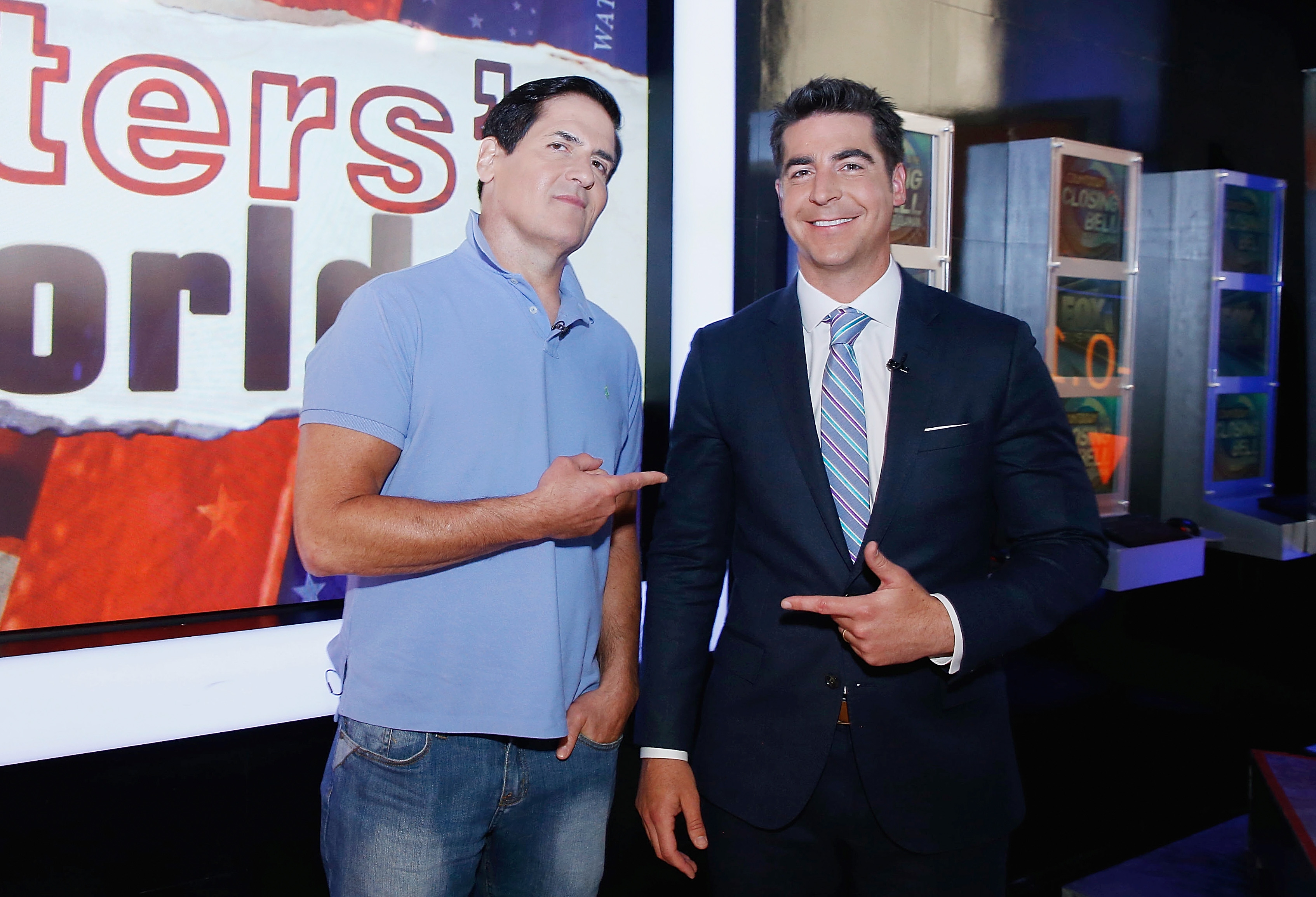 "Mark Cuban Visits Fox News Channel's ""Watters' World"""